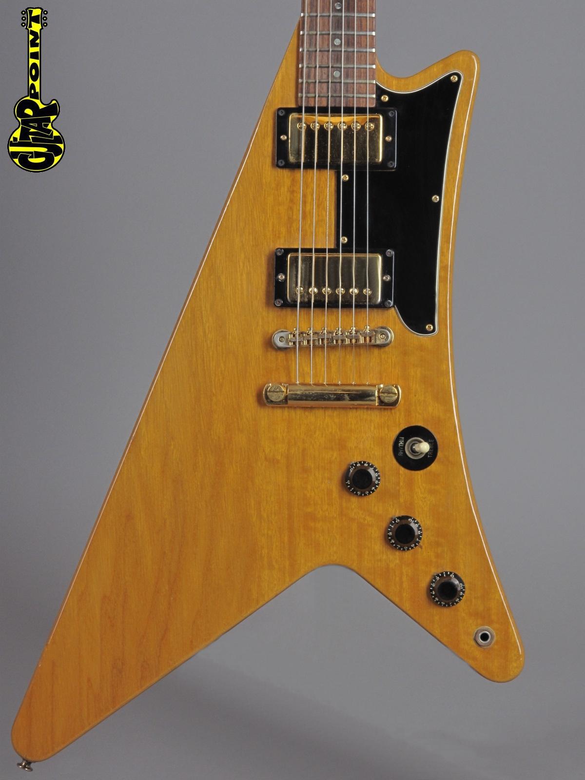 1982 Gibson Moderne Korina Heritage - Natural