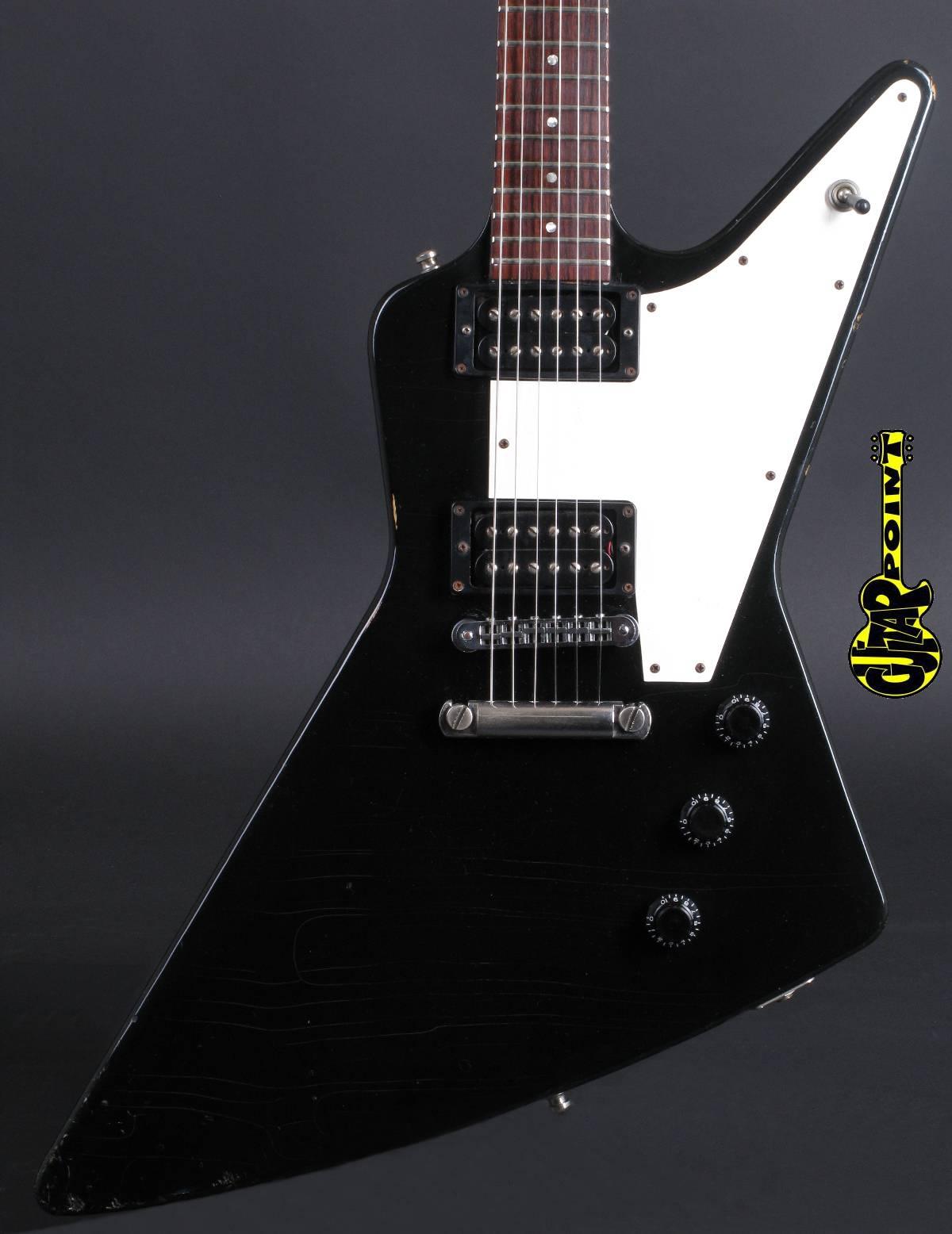 1983 Gibson Explorer I - Ebony