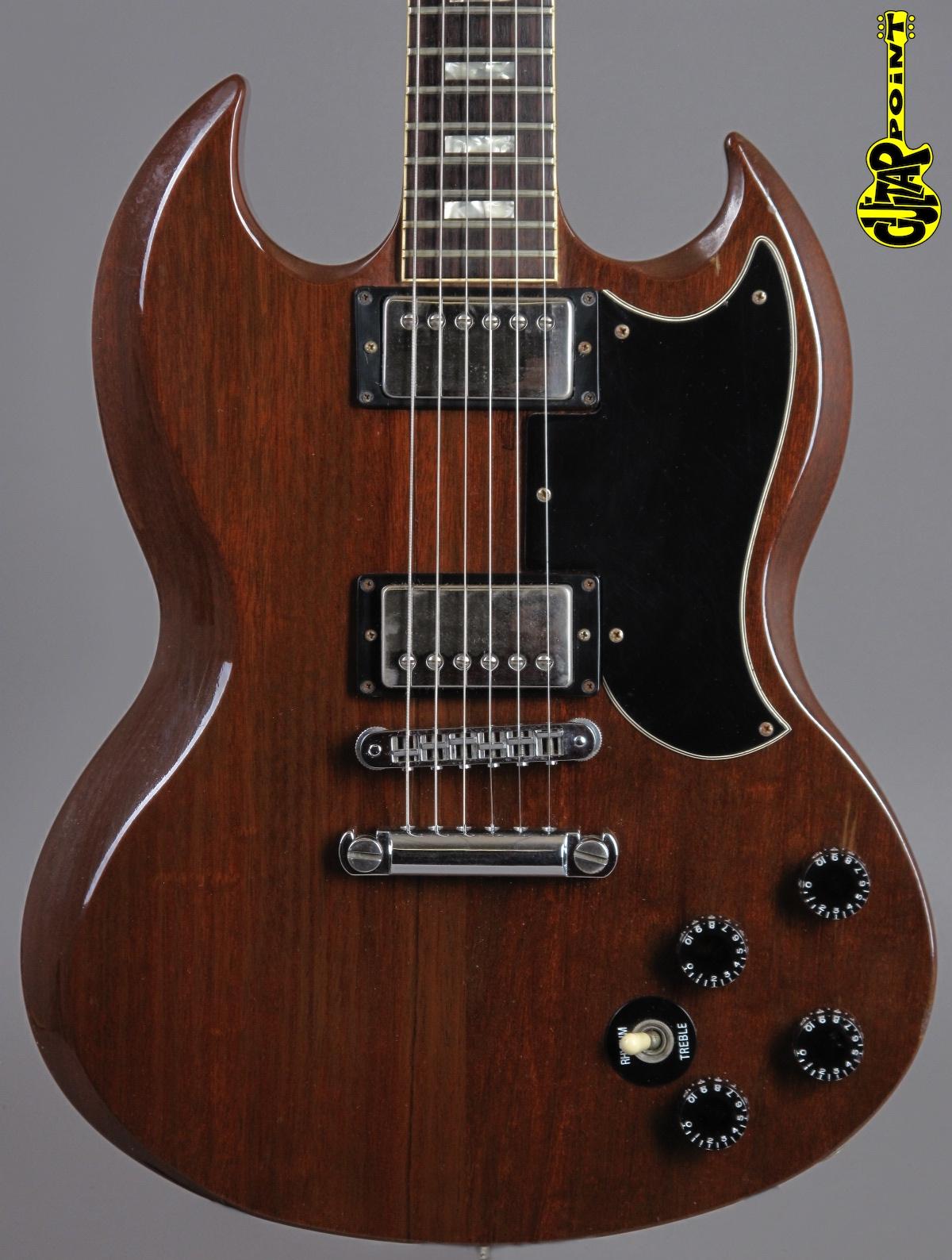 1984 Gibson SG Standard - Walnut