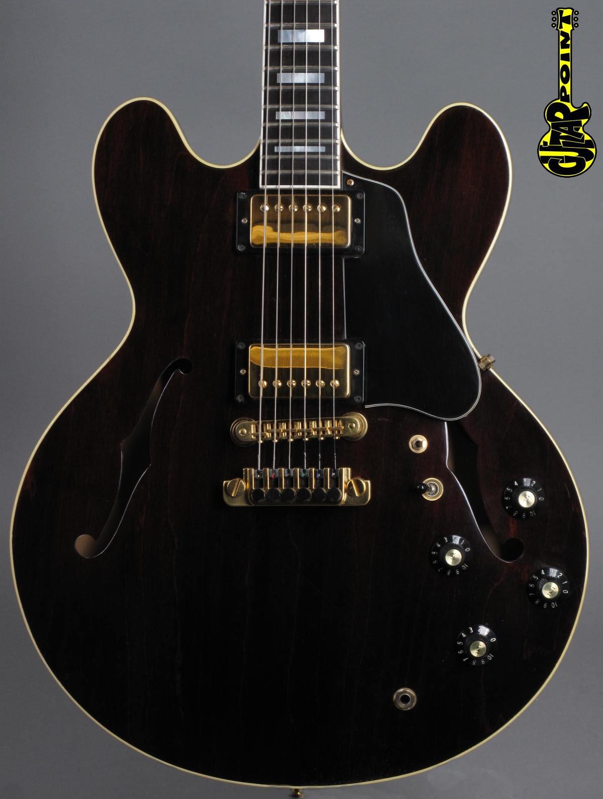 1985 Gibson ES-347 TD - Walnut   ...early Custom Shop!