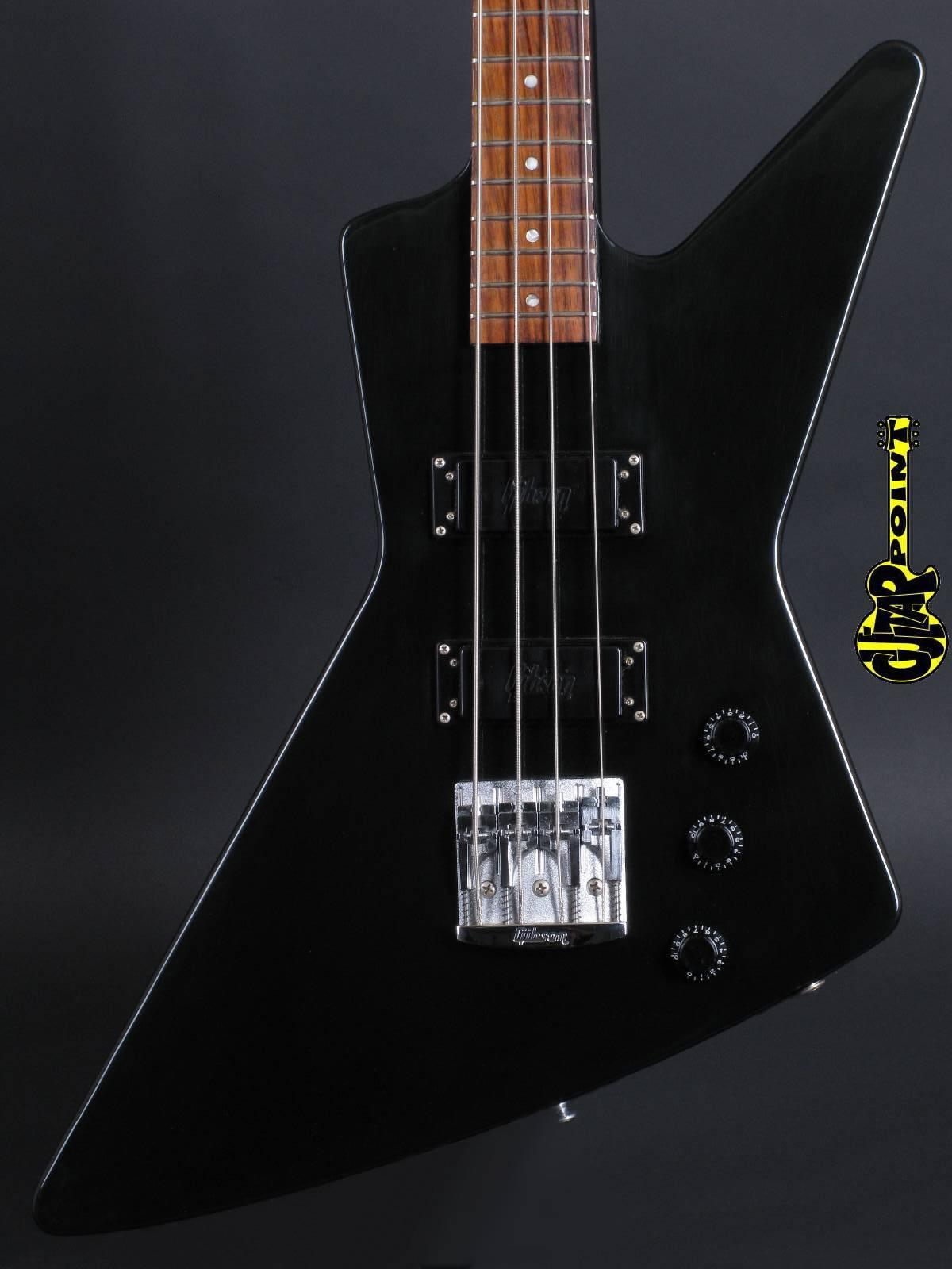 1985 Gibson Explorer Bass - Ebony