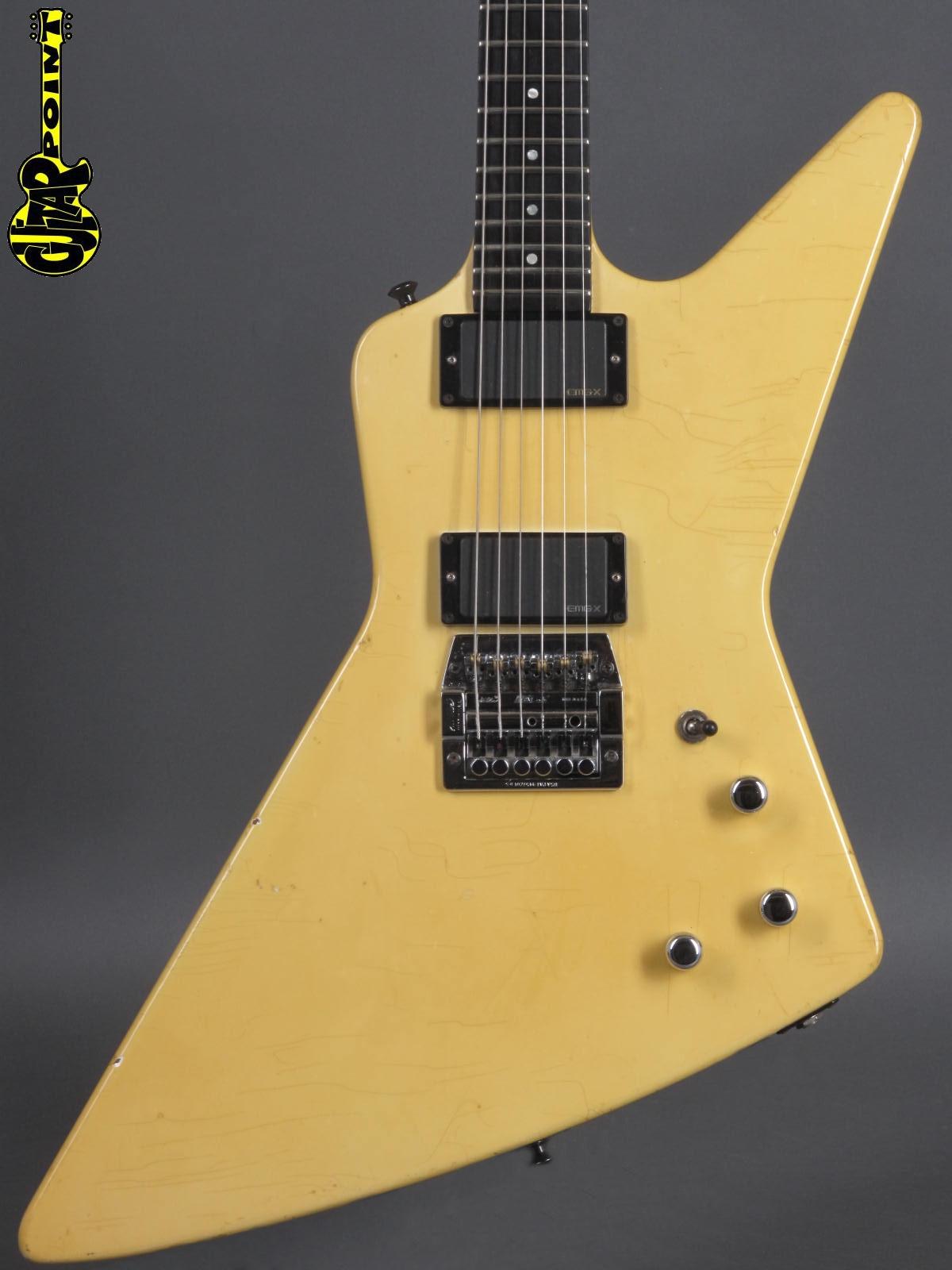 1985 Gibson Explorer - White  w/ EMG´s