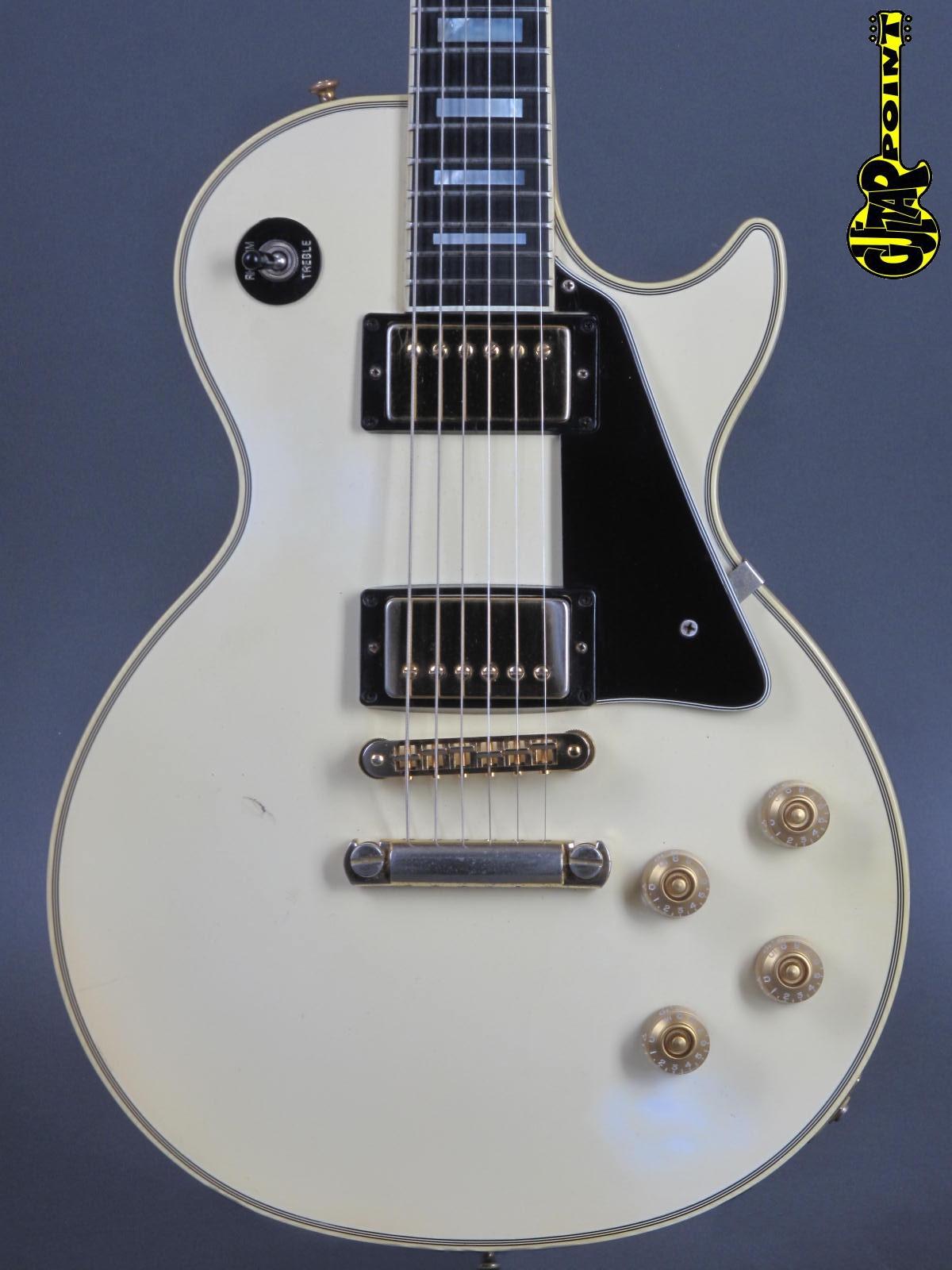 1988 Gibson Les Paul Custom - Creme White