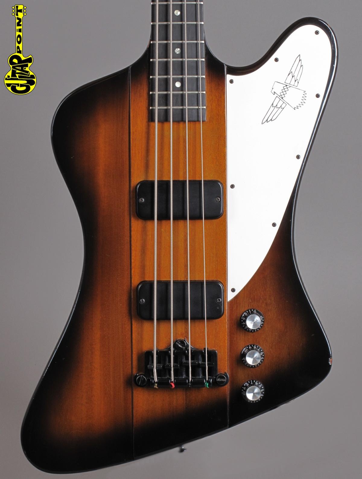 1989 Gibson Thunderbird IV Reverse Bass - Sunburst