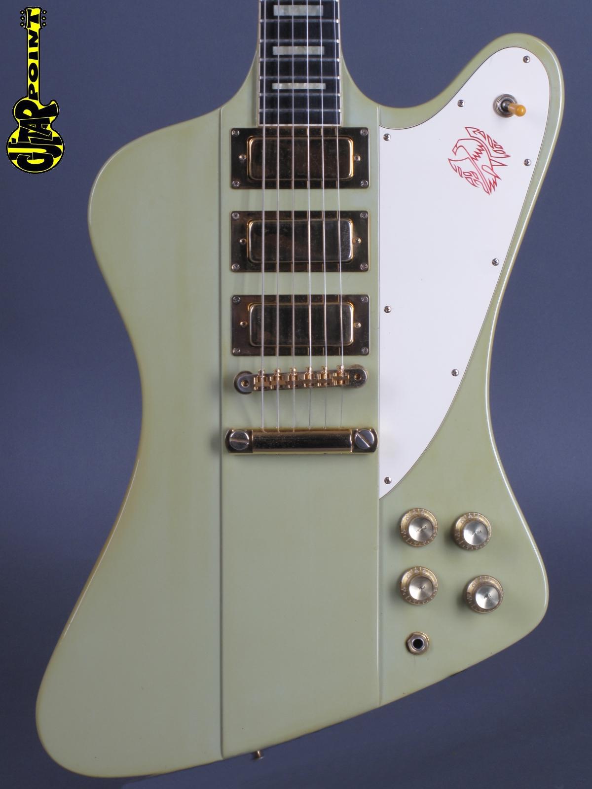 1991 Gibson Firebird VII - Frostblue