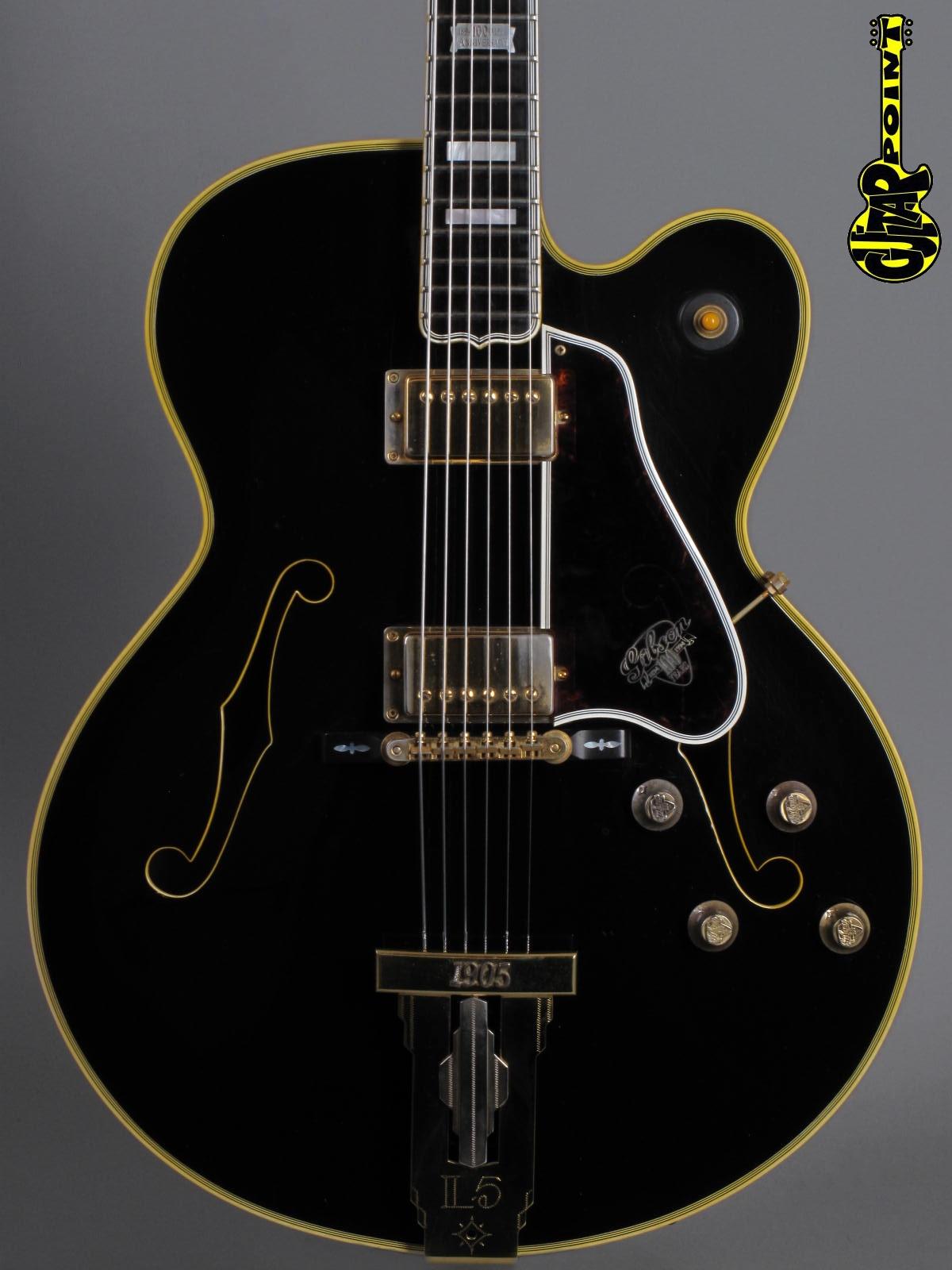 1995 Gibson L-5 Centennial 100th Anniversary - Ebony