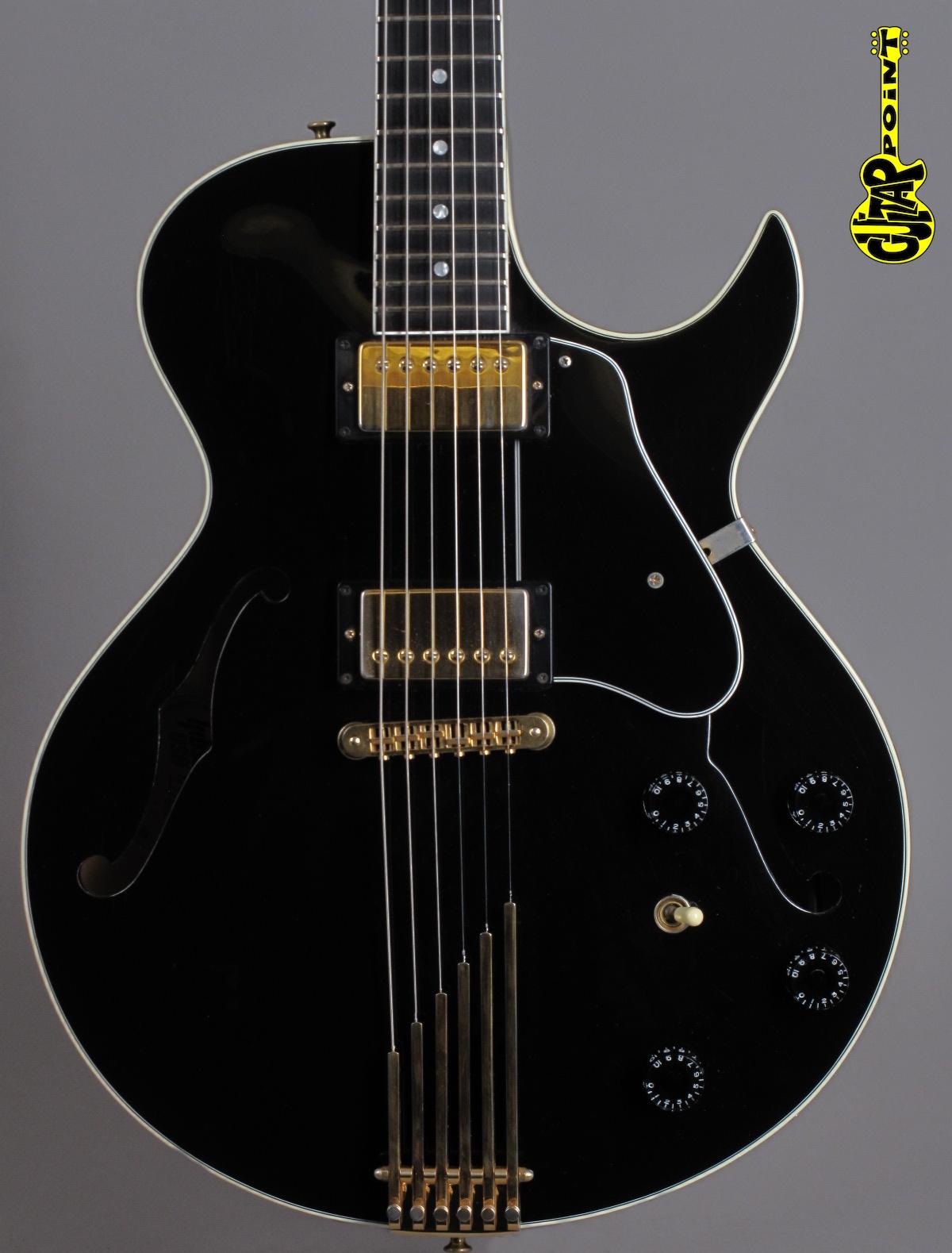 1997 Gibson Howard Roberts Fusion - Ebony