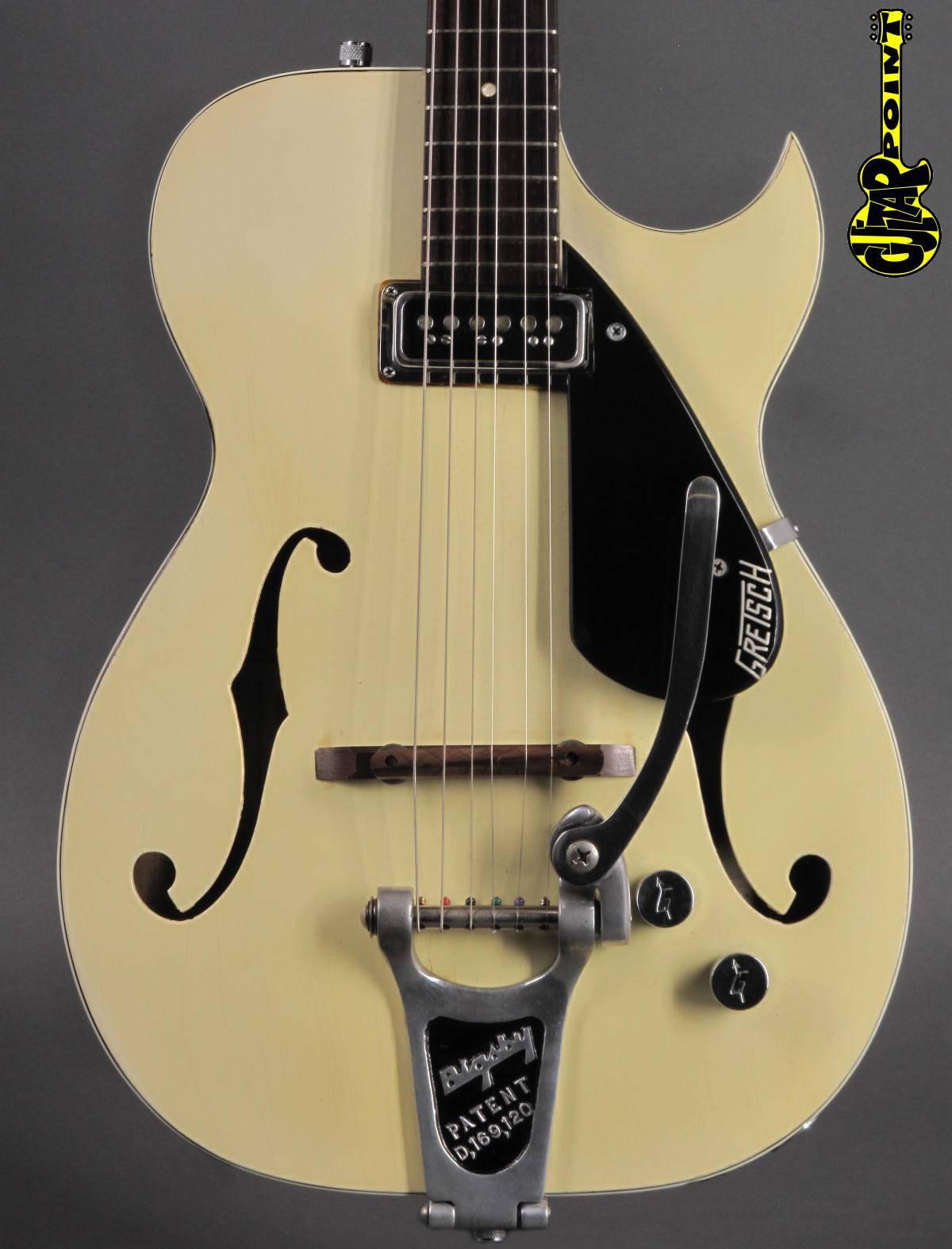 1957 Gretsch 6115 Rambler - Lotus Ivory