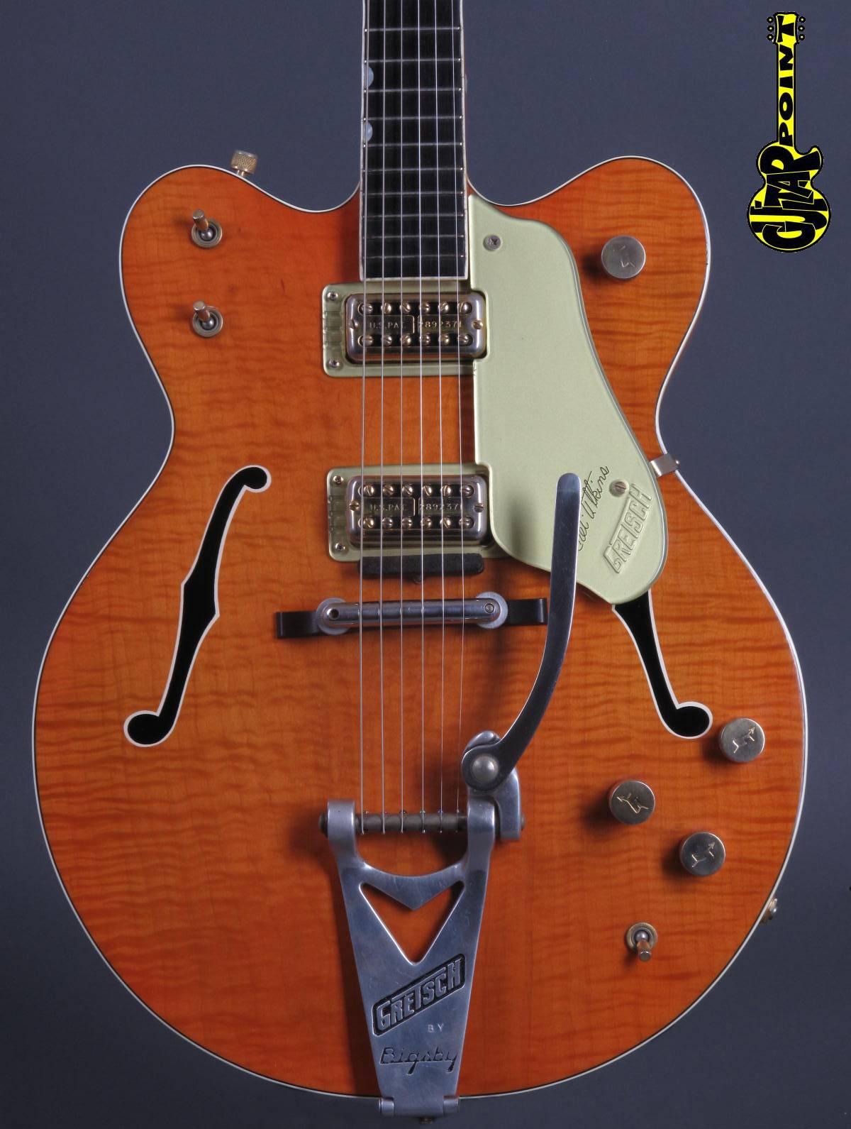 """1962 Gretsch 6120 DC """"Chet Atkins""""  -   Flamey !!!"""