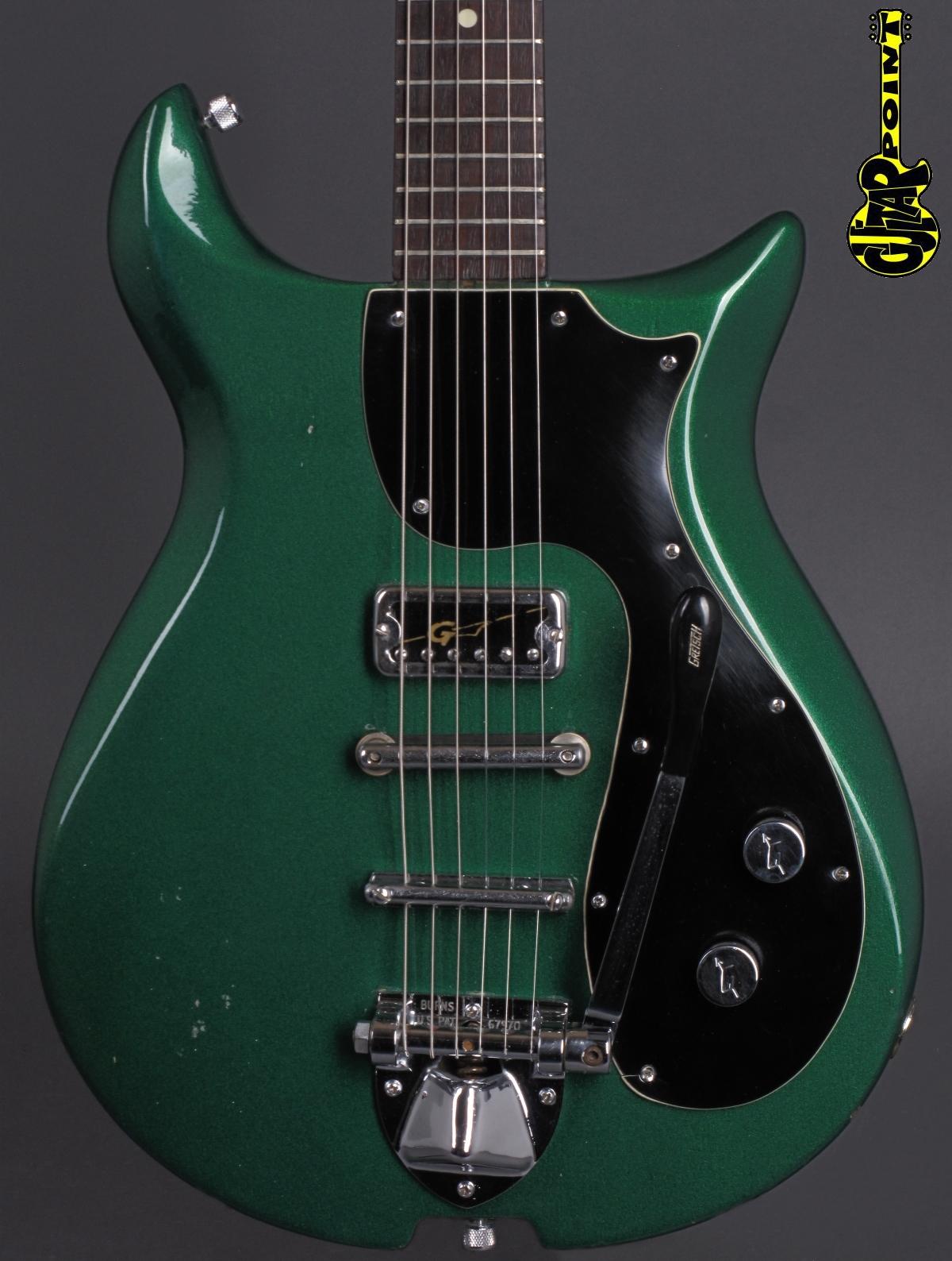 1966 Gretsch 6134 Corvette - Cadillac Green   ...rare !!!