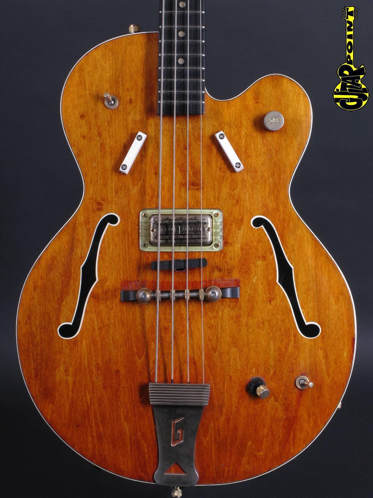 1967 Gretsch 6071 Semiacoustic bass