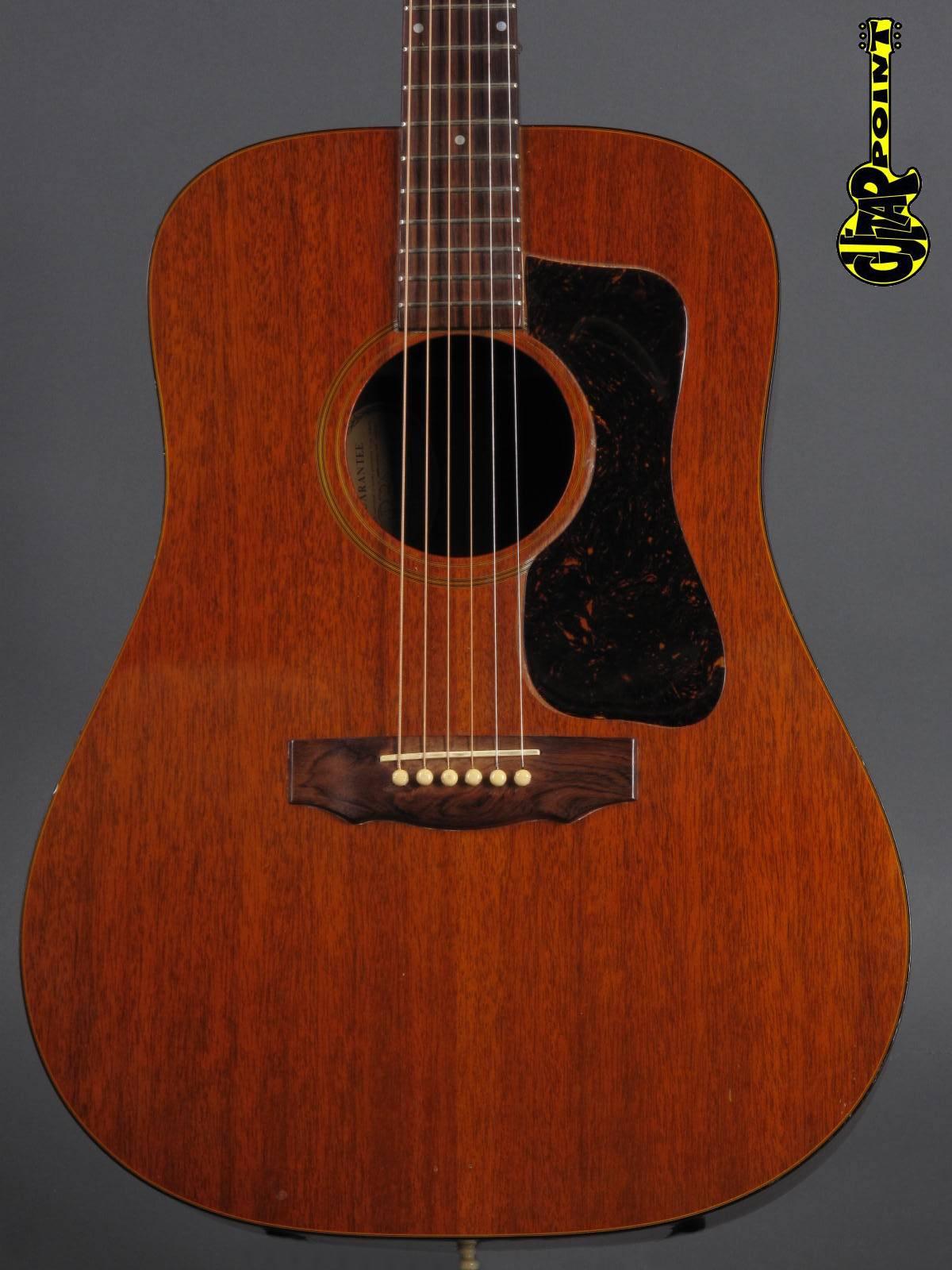 1973 Guild D-25 - Natural