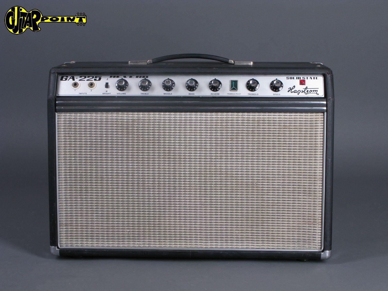 """Ca. 1970 Hagstrom GA-225 Reverb - 2x10"""" Amplifier"""