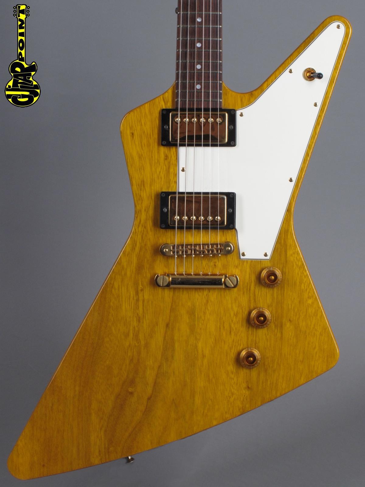 1995 Hamer Korina Standard - Natural