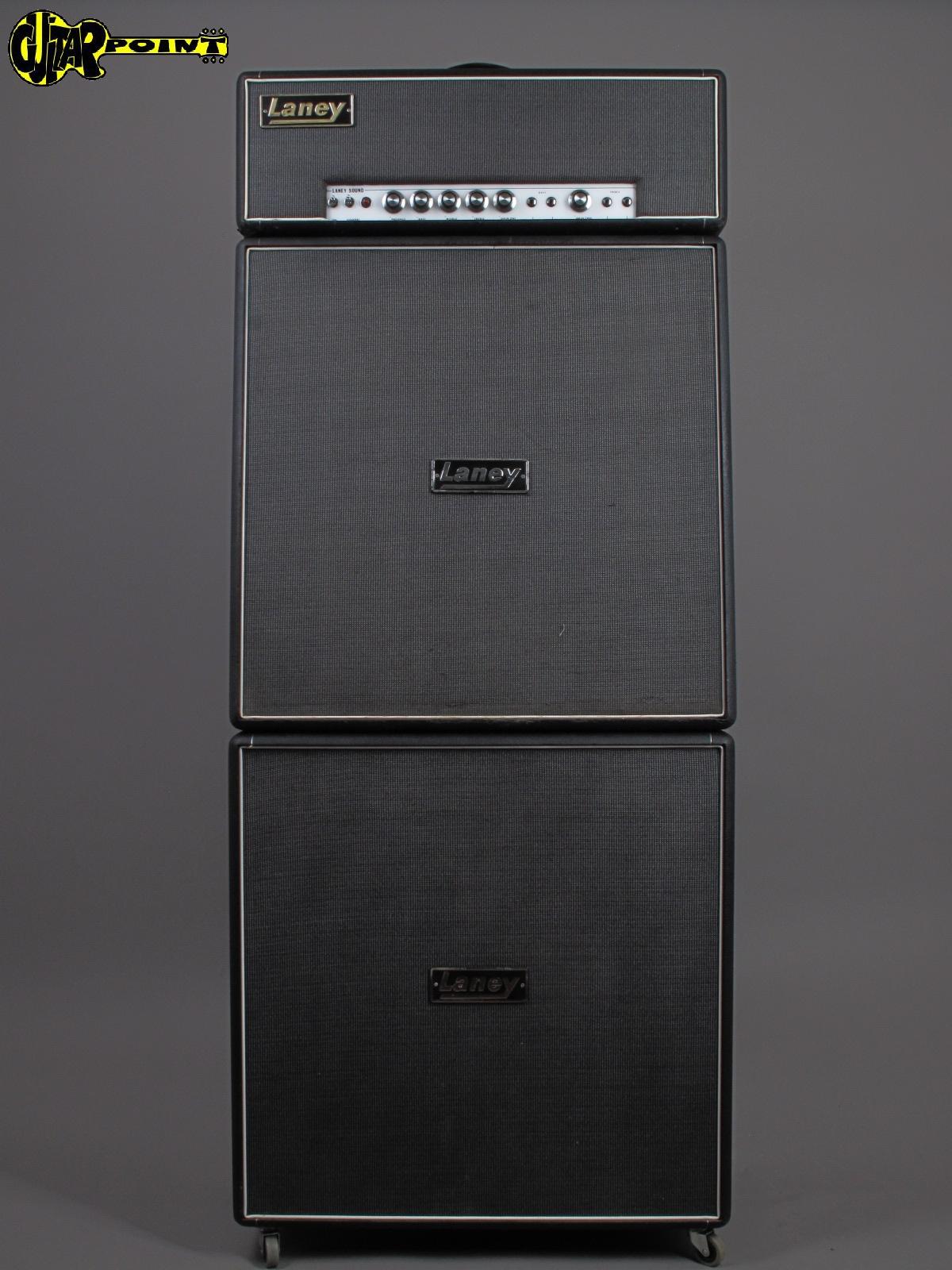 "1969 Laney Soupergroup MK1 - 100 Watt + 2 4x12"" Cabs / AEG - EL34 !!!"