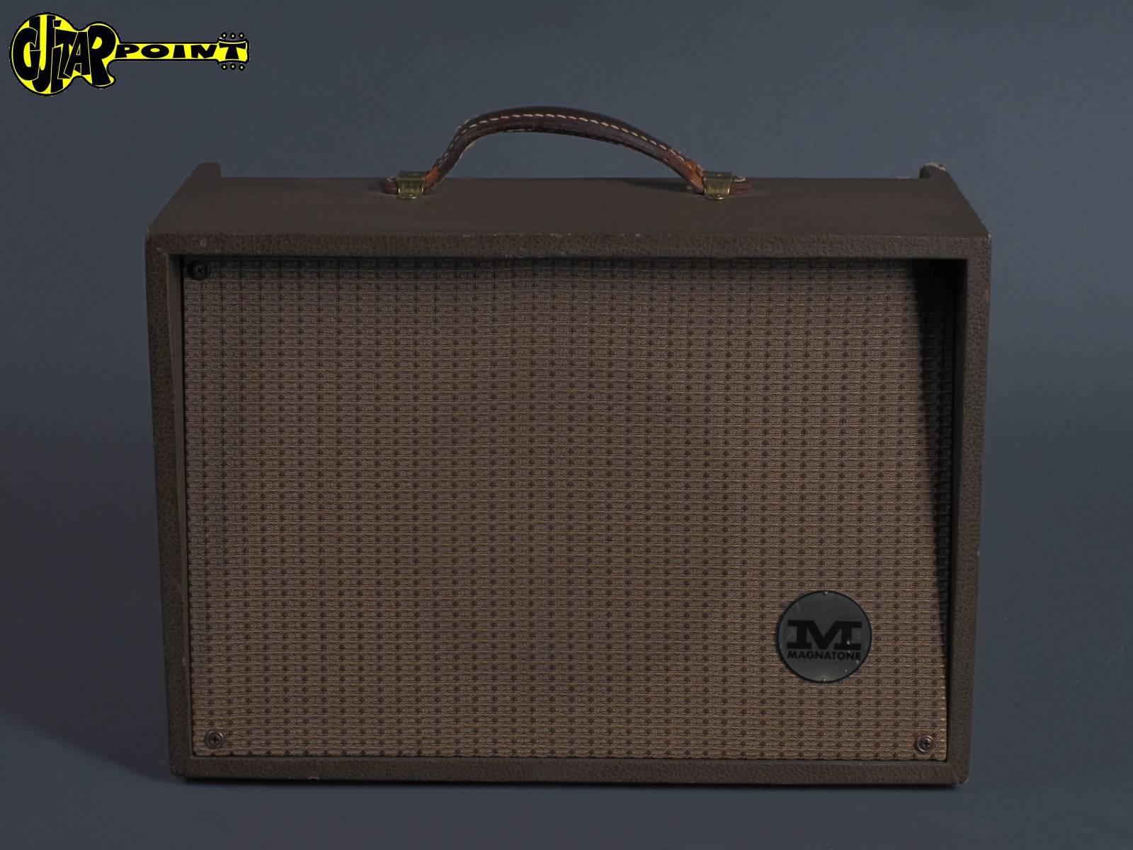 "1959 Magnatone Model 111 - ""Student"" Tube Amplifier"