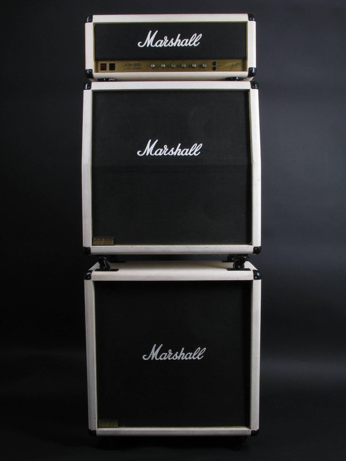 1983 Marshall JCM800 MK2 Superlead 100W - White Ltd.