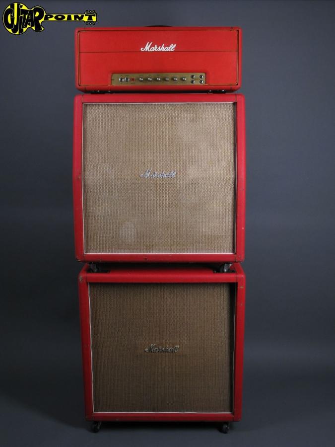 1969/71 Marshall JMP 50 fullstack - Red Levant