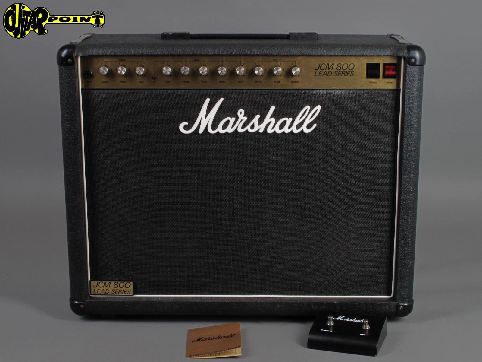 "1984 Marshall JCM800 / Model 2211 - 100 Watt  2x12"" Combo"