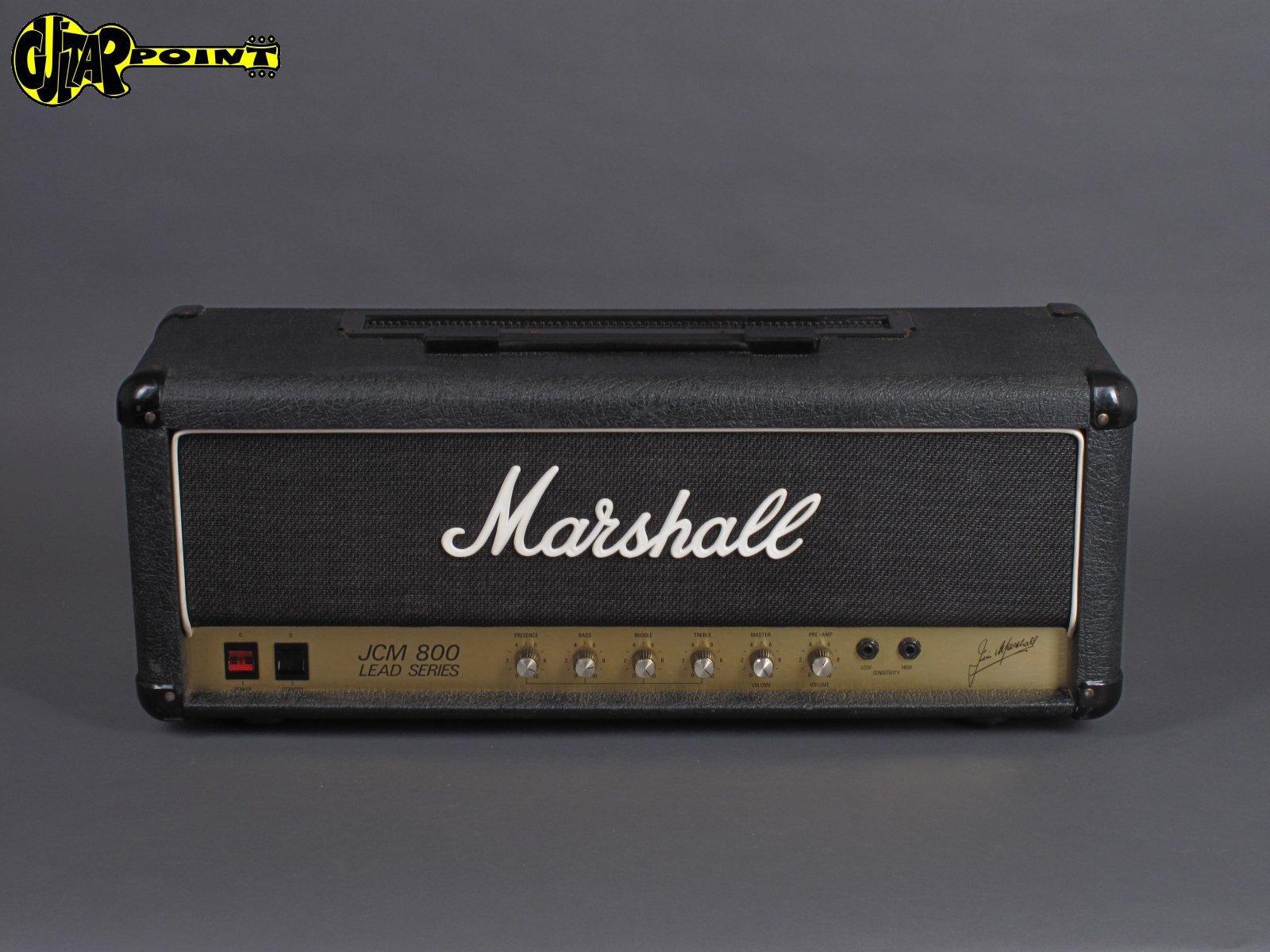 1989 Marshall JCM800 MK2 Lead /100W - Model 2203