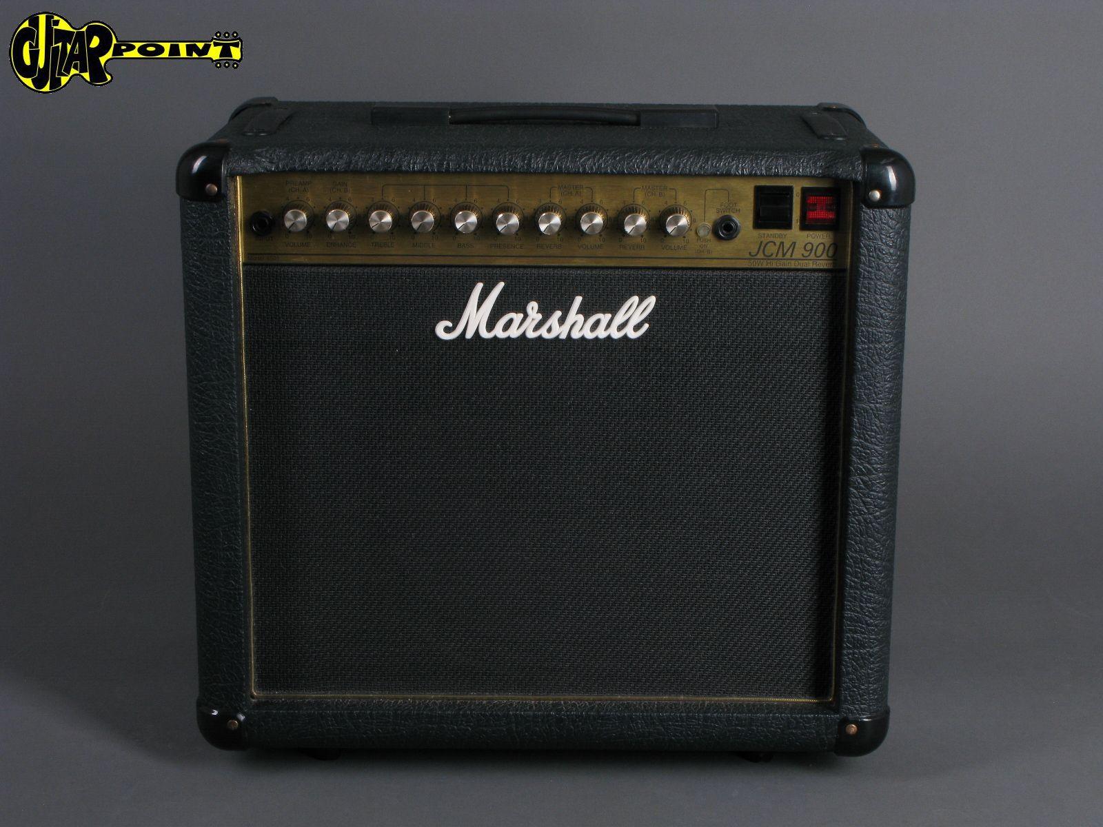 1990 Marshall JCM900 HiGain Dual Reverb Combo 4501