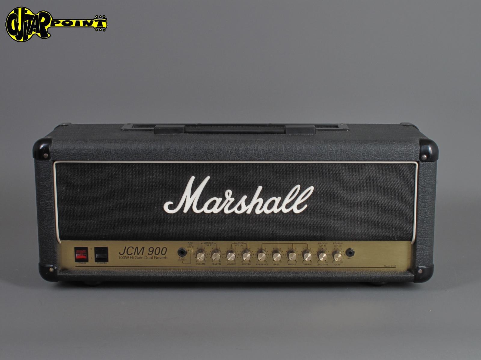 1991 Marshall JCM900 HiGain Dual Reverb - 100 Watt