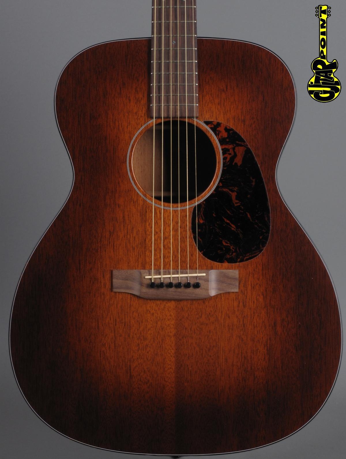 Martin Custom OM-15 - Sunburst / Solid Mahogany