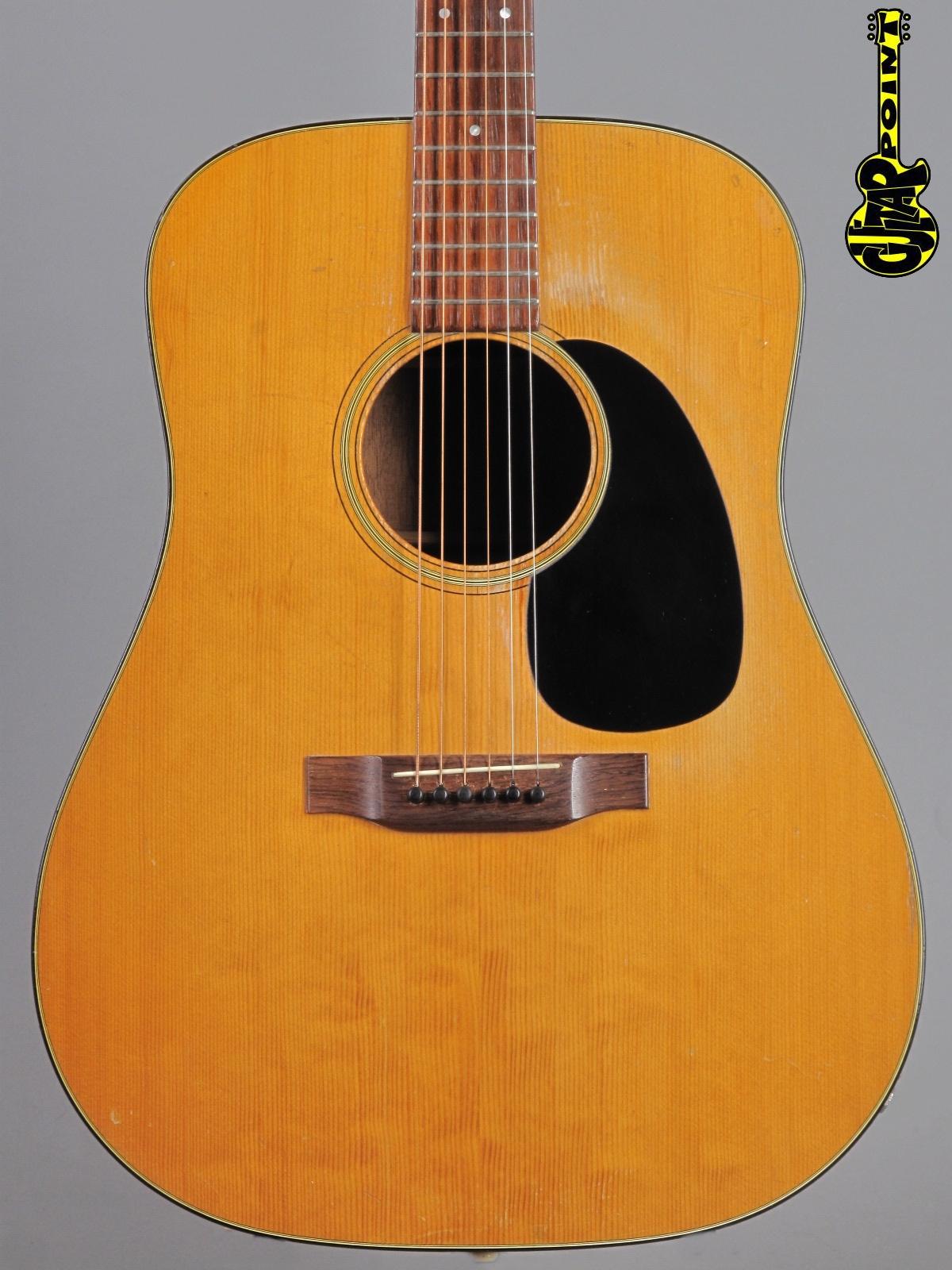 1969 Martin D-18 - Natural