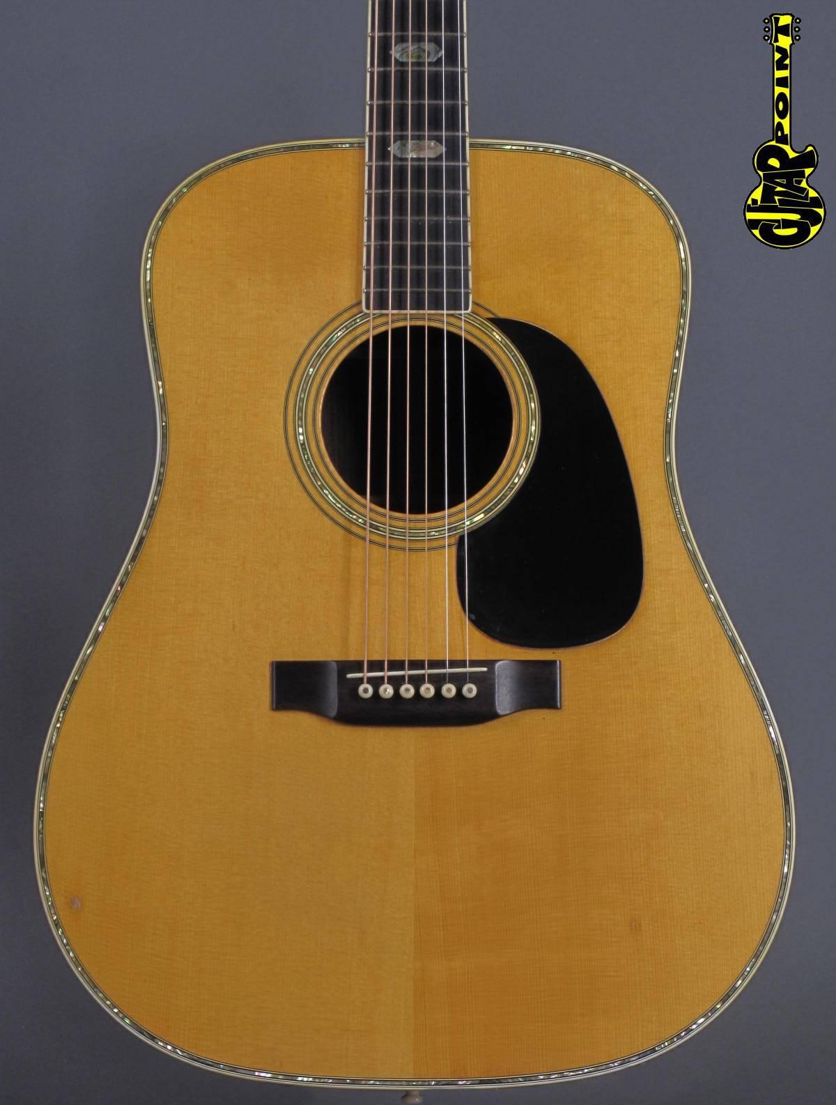 1970 Martin D-41 - Natural