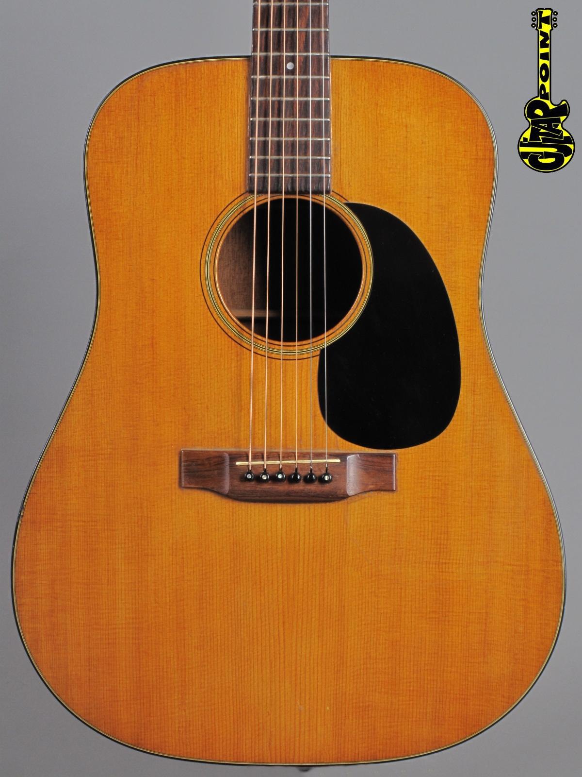 1971 Martin D-18 - Natural