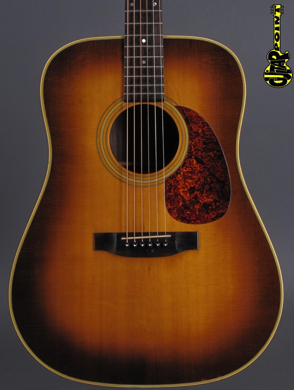 1987 Martin D-2832 Shenandoah - Sunburst