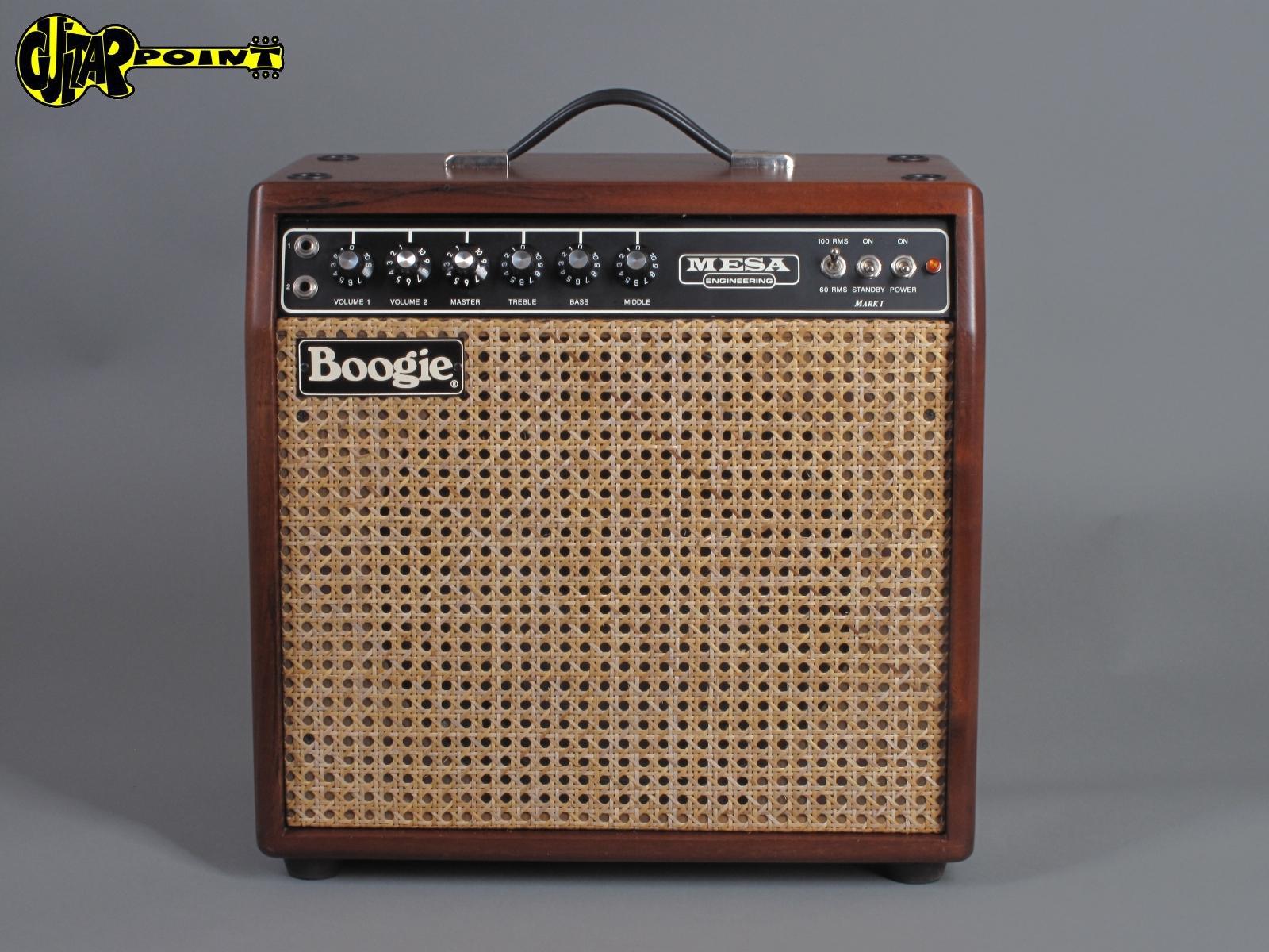 1990 Mesa Boogie Mark 1 Reissue - Mahogany Cabinet