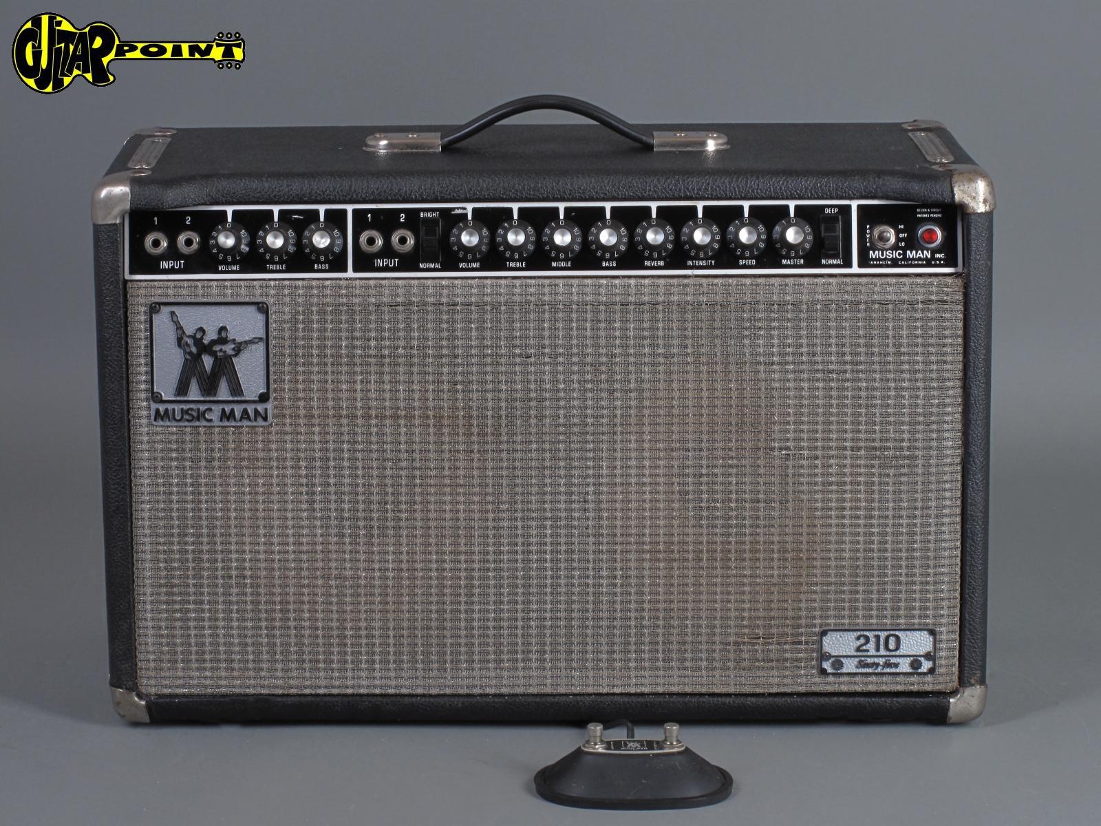 "1978 MusicMan 210 Sixtyfive - 65 Watt 2x10"" Combo"