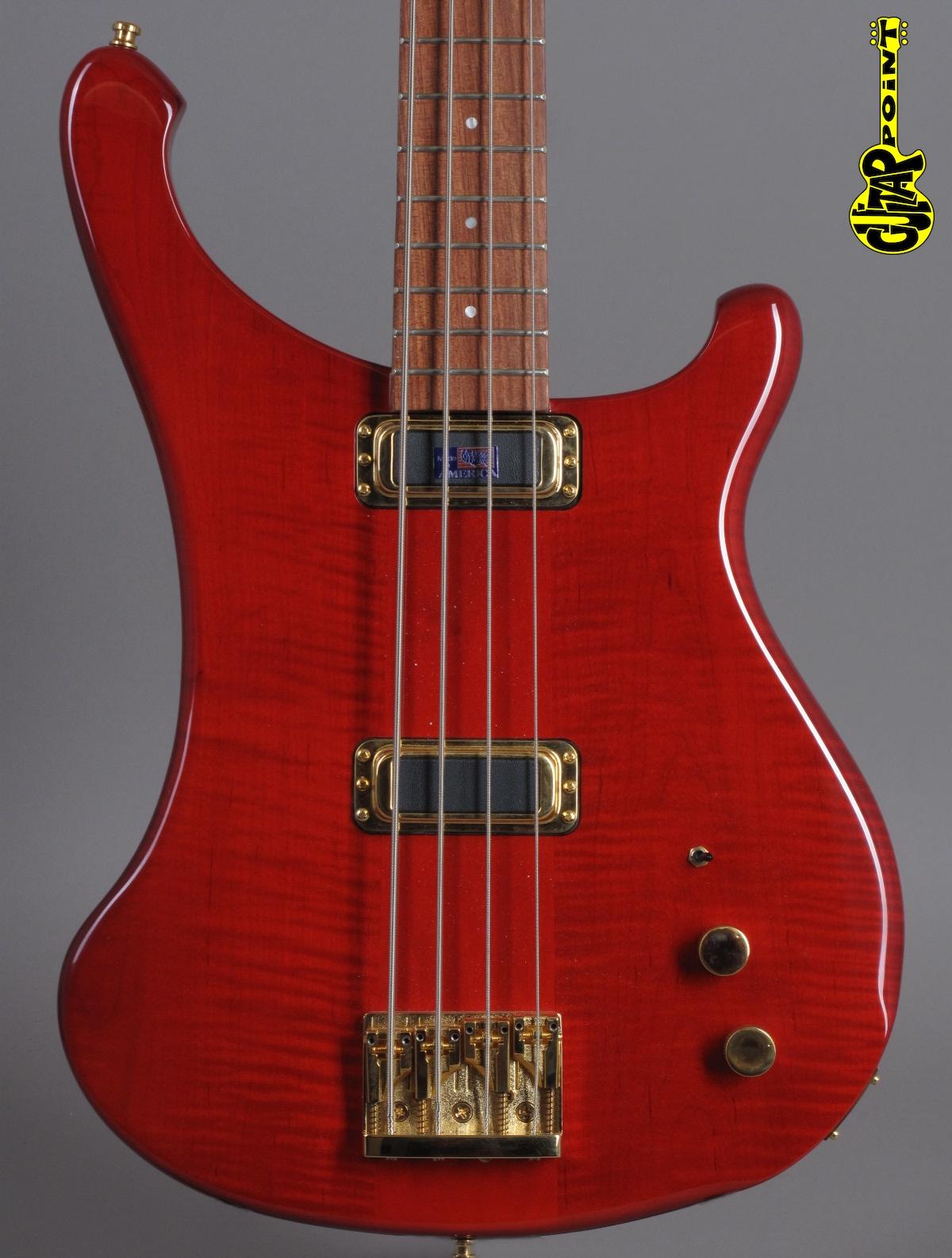 2008 Rickenbacker 4004 CII Cheyenne - Trans Red