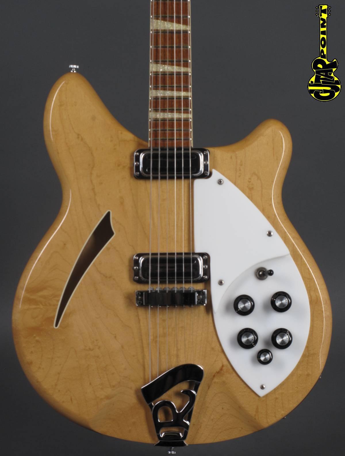 1966 Rickenbacker - 360 Mapleglow