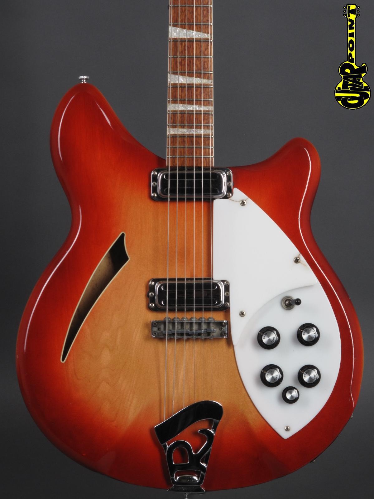 1967 Rickenbacker - 360 Fireglow