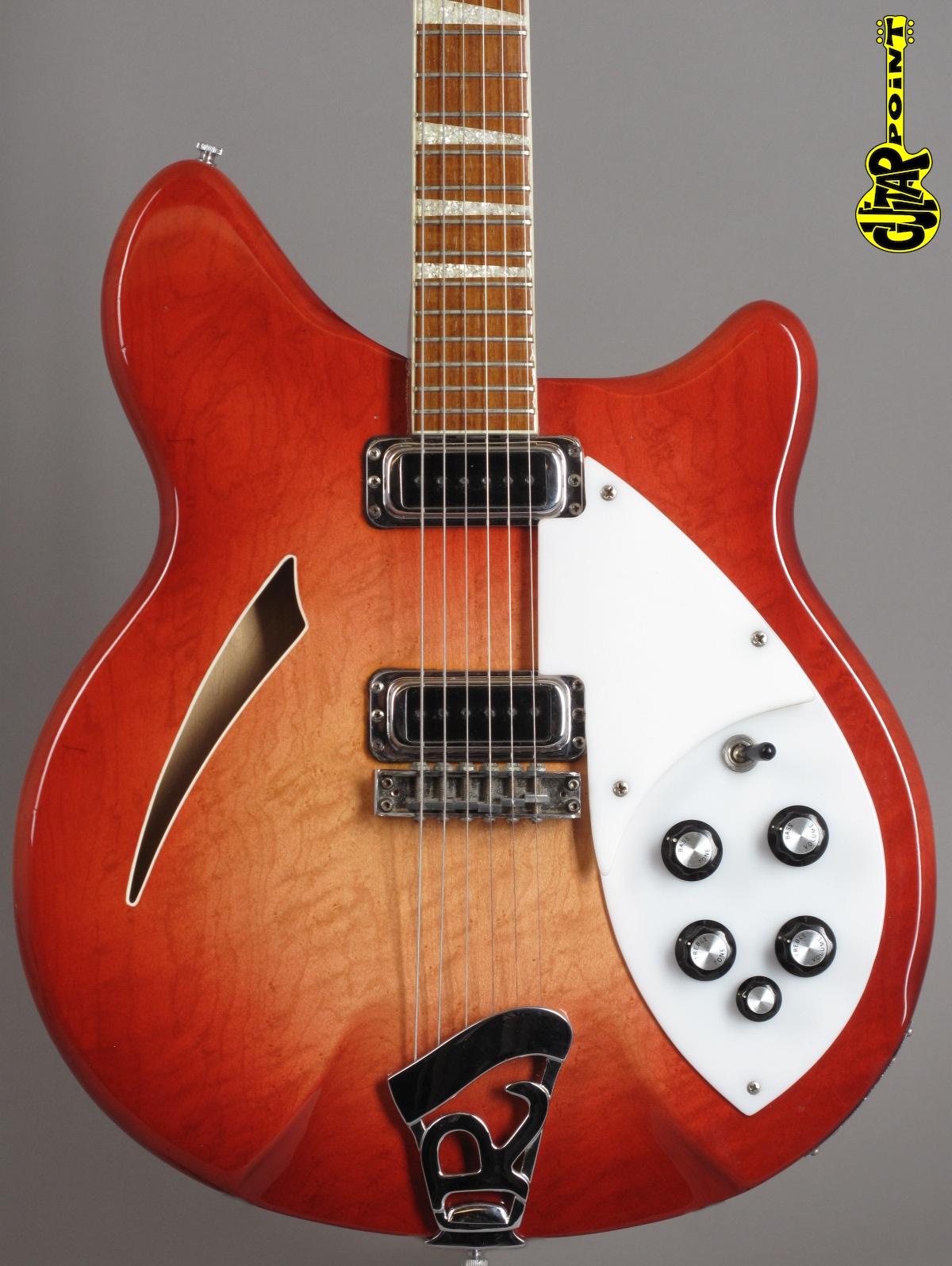 1973 Rickenbacker - 360 Fireglo