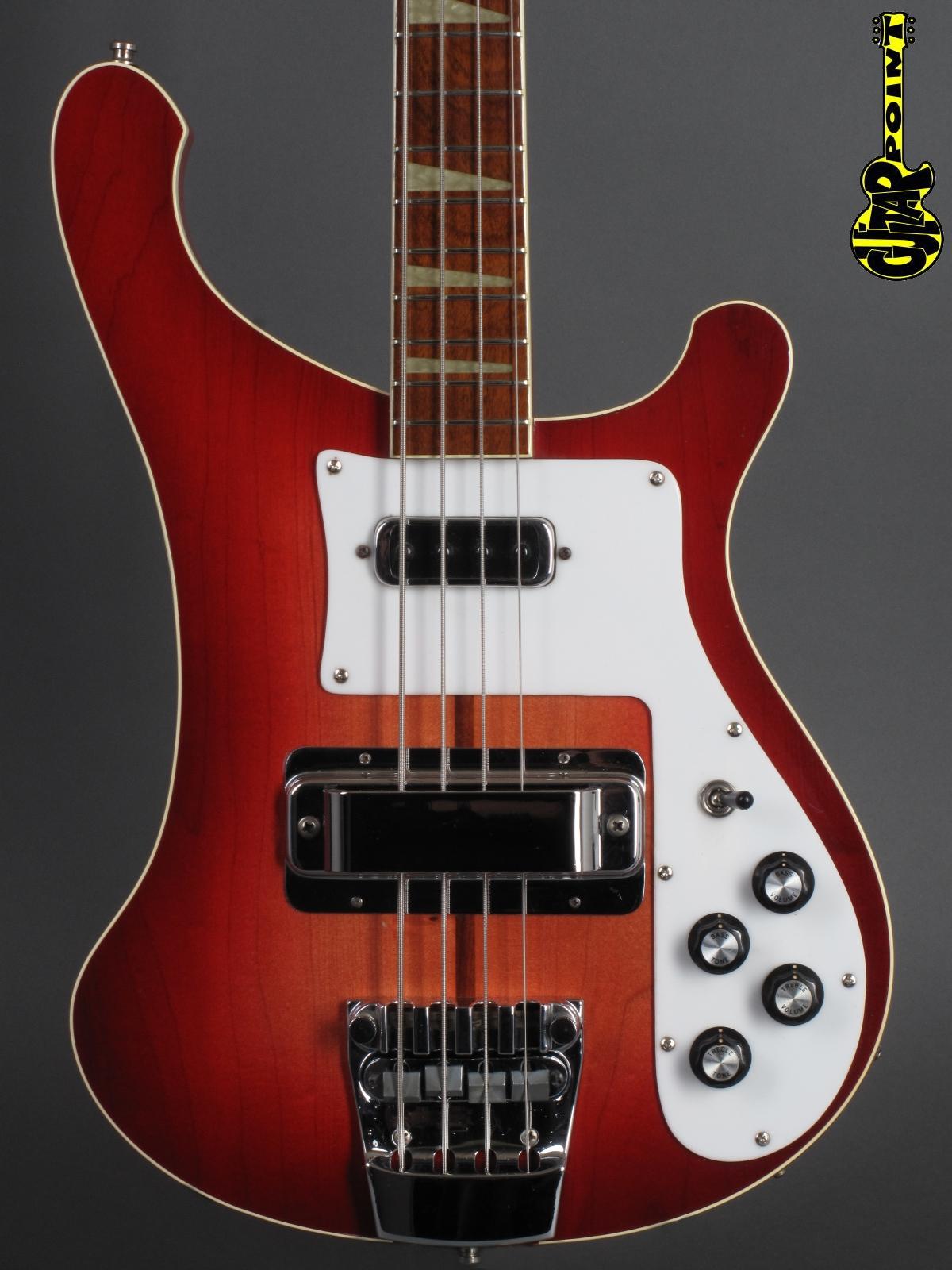 1975 Rickenbacker 4001 Bass - Fireglo