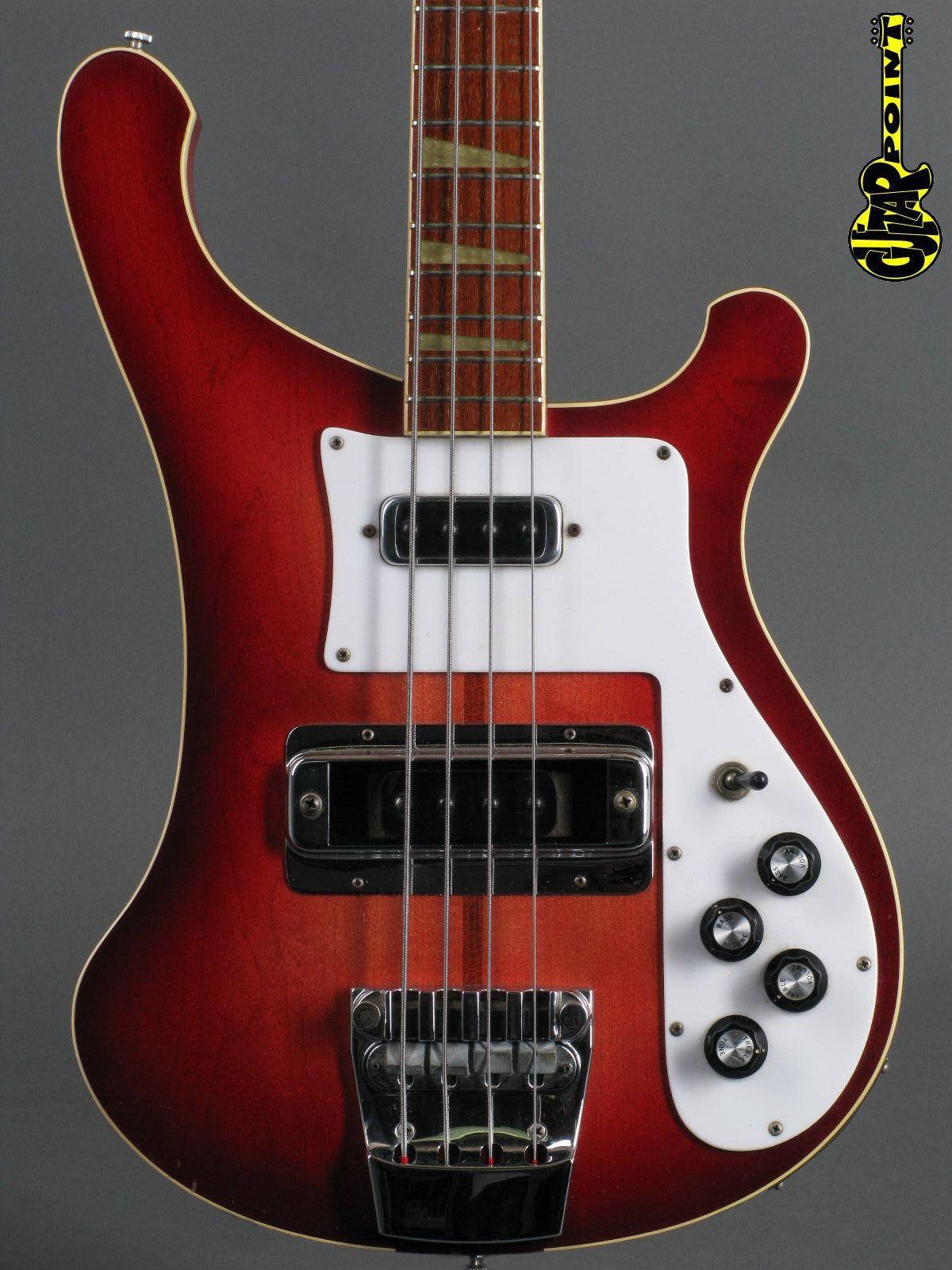 1976 Rickenbacker 4001 Bass - Fireglo