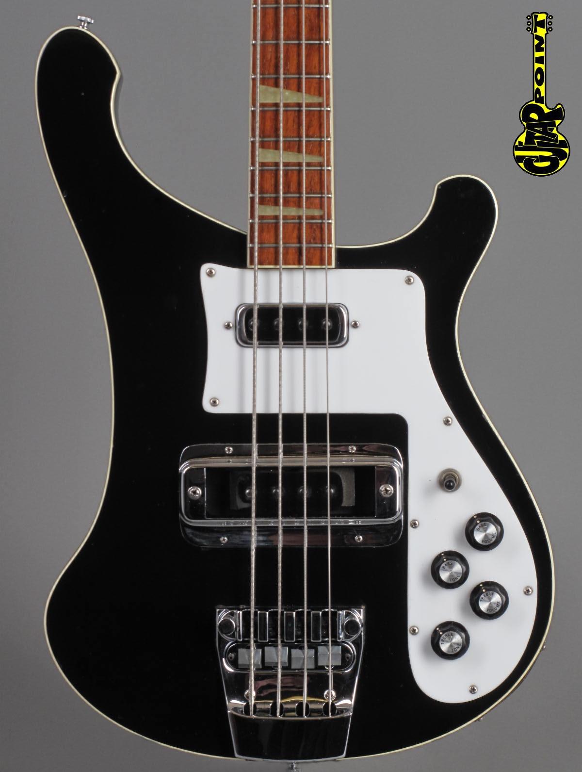 1976 Rickenbacker 4001 Bass - Jetglo