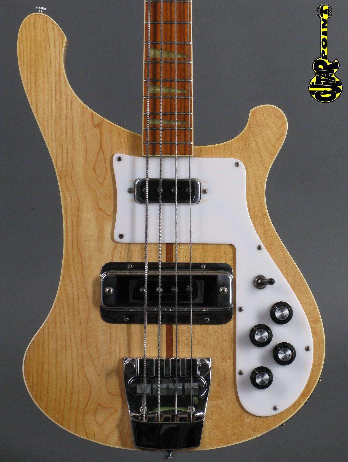 1976 Rickenbacker 4001 Bass - Mapleglo