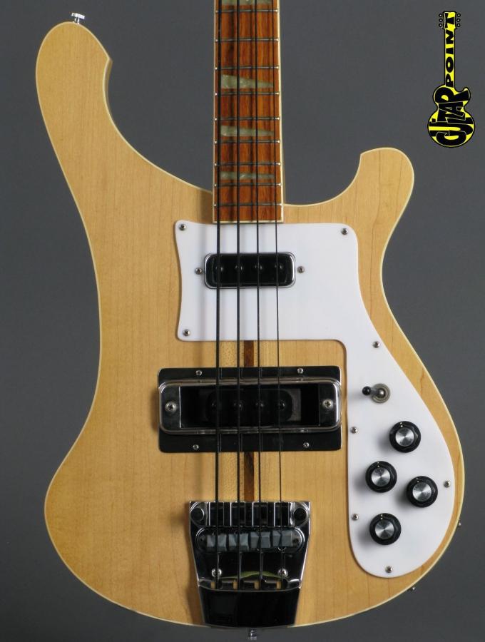 1979 Rickenbacker 4001 Bass - Mapleglo