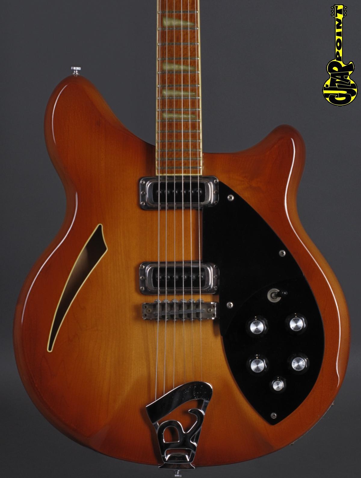 1979 Rickenbacker 360 - Autumnglo