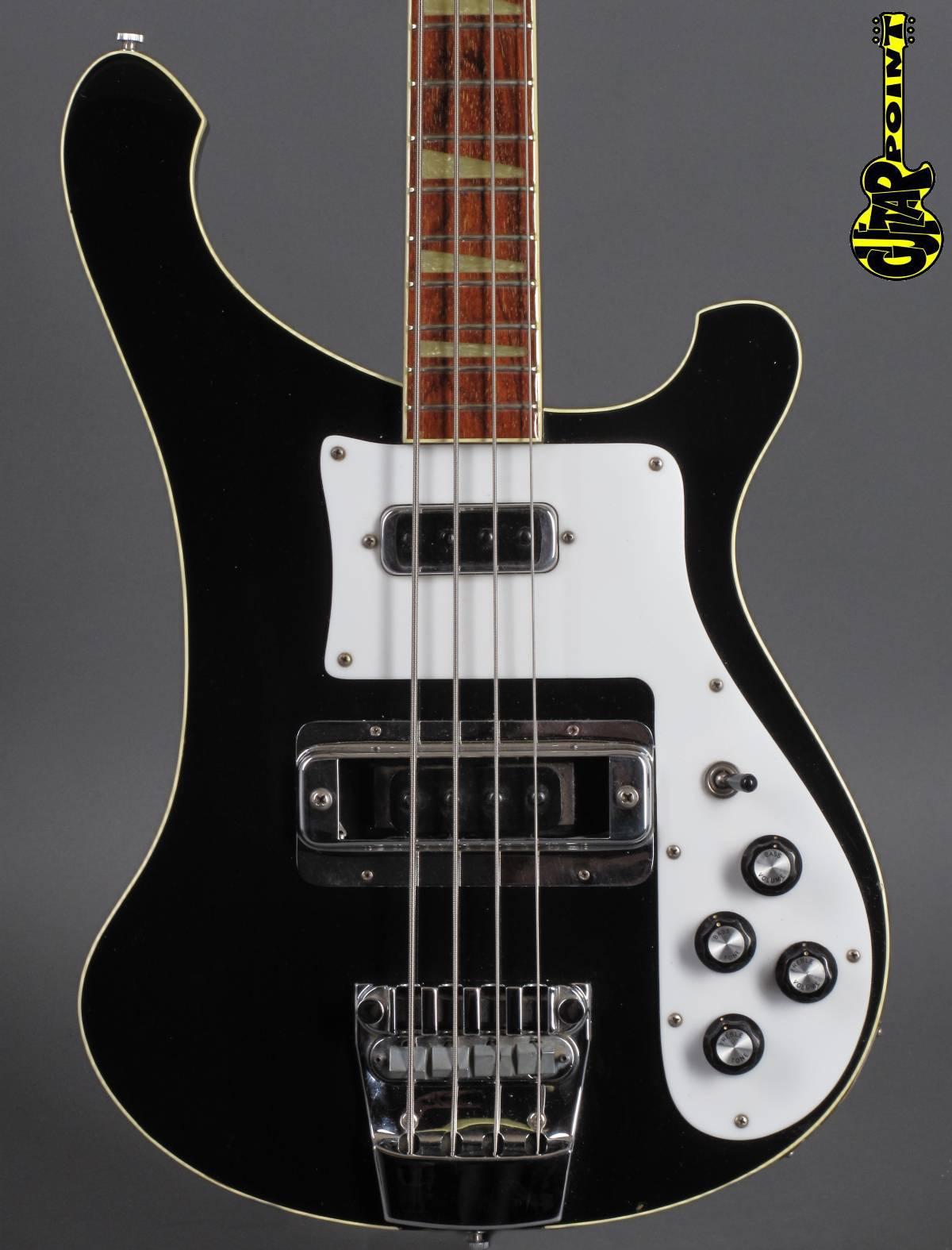 1979 Rickenbacker 4001 Bass - Jetglo