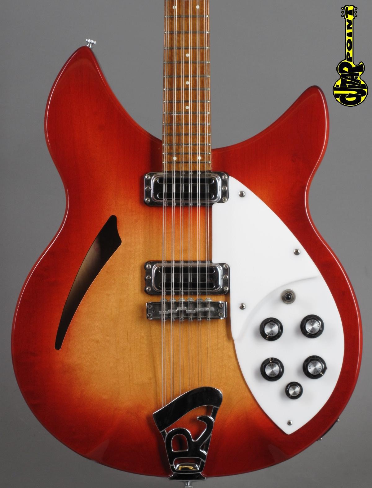 1980 Rickenbacker 330/12 - Fireglo