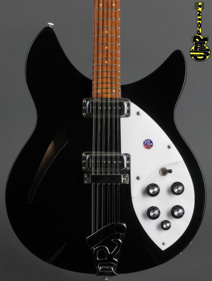1992 Rickenbacker 330/12 12-string - Jetglo