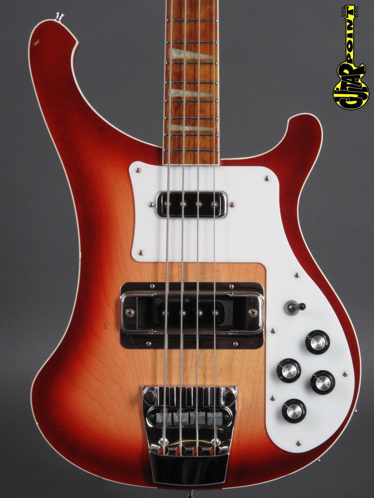 1998 Rickenbacker 4001 Bass - Fireglo