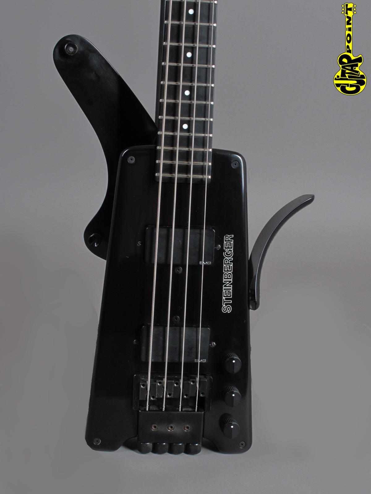 1982 Steinberger L2 Headless Bass - Black