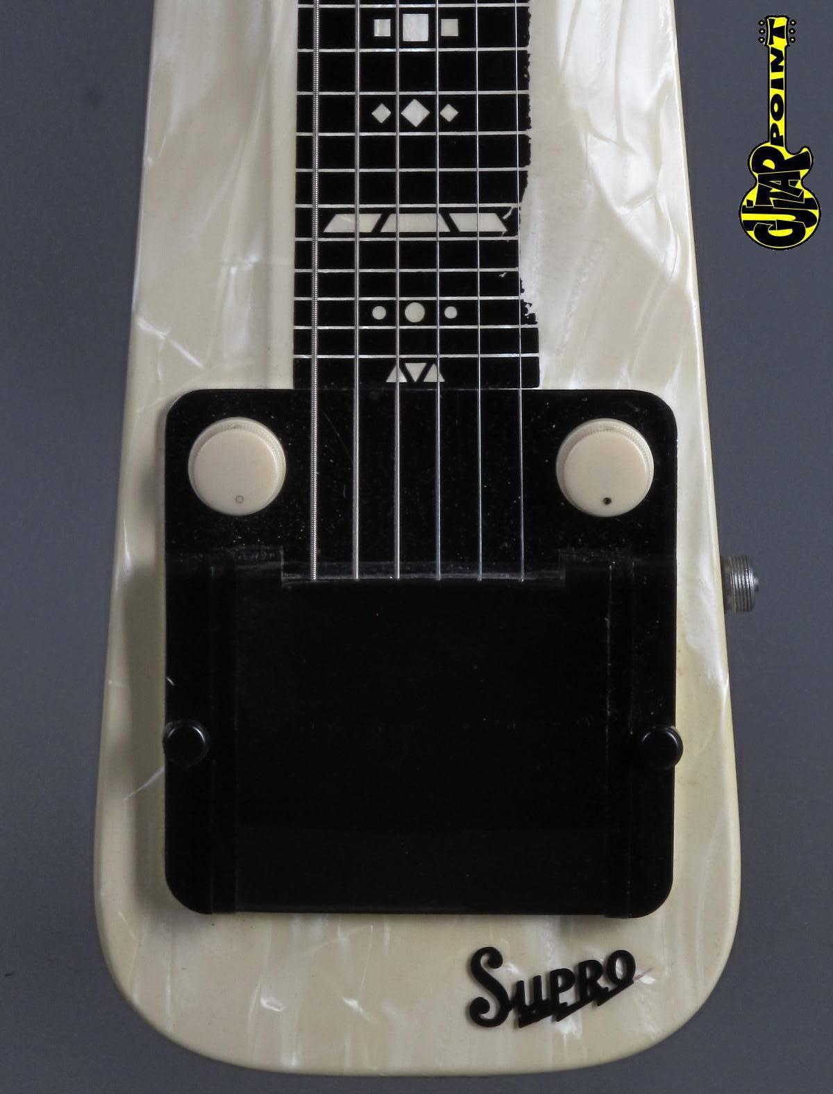 1955 Supro Comet 1410 Lap Steel Guitar
