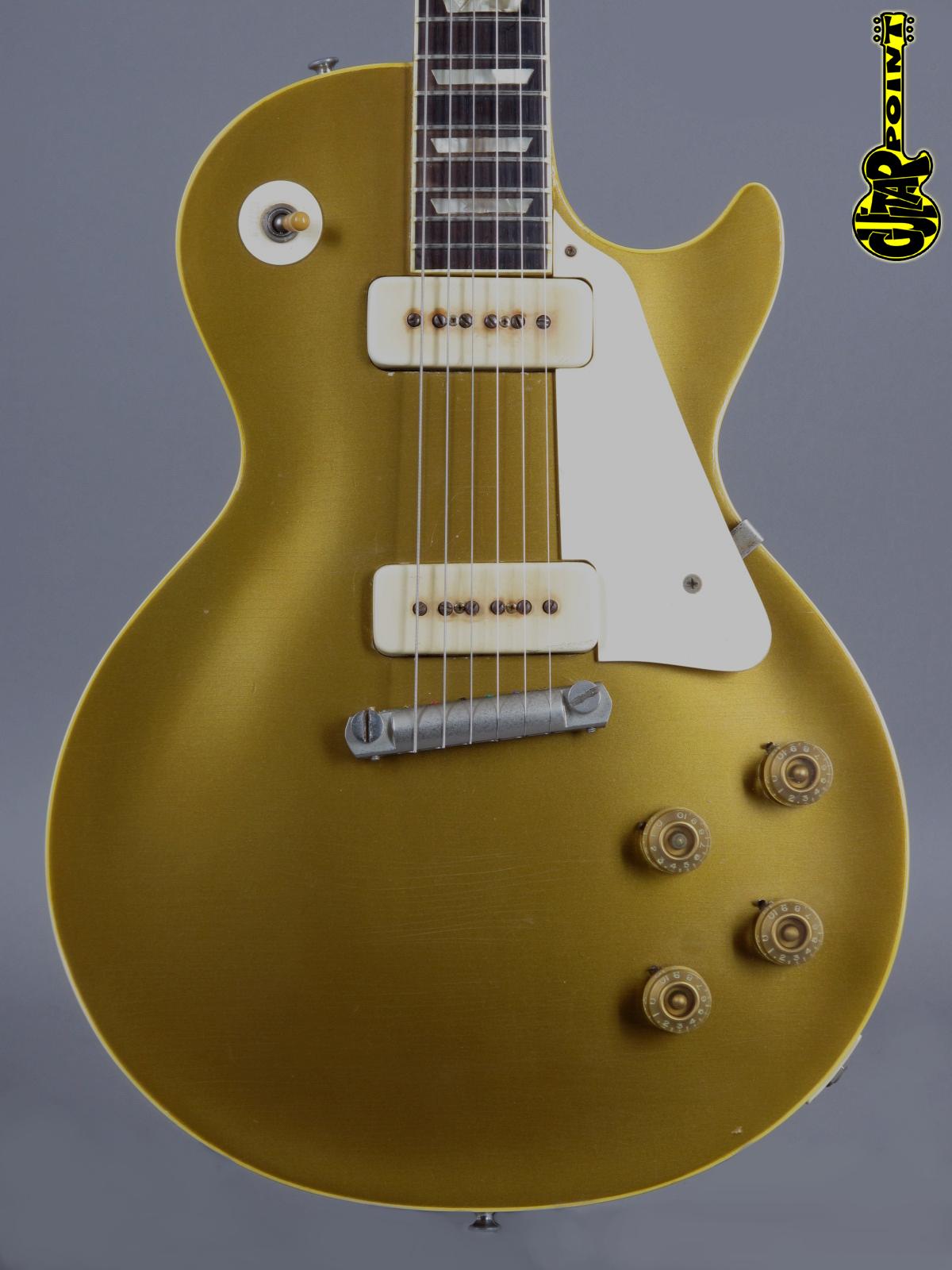 1954 Gibson Les Paul Standard Gold Top - All Gold Lightweight!